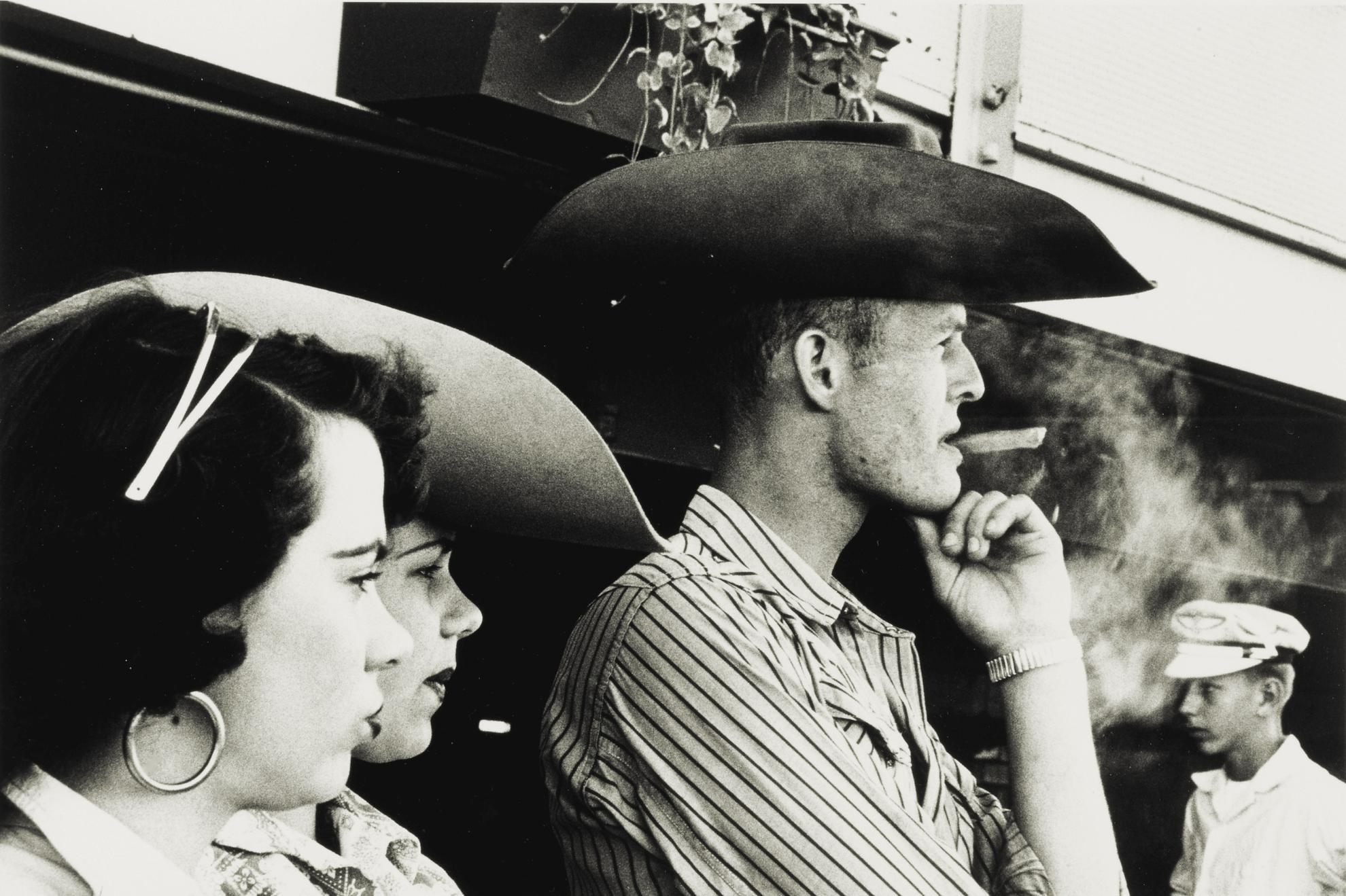 Robert Frank-Detroit Rodeo-1955