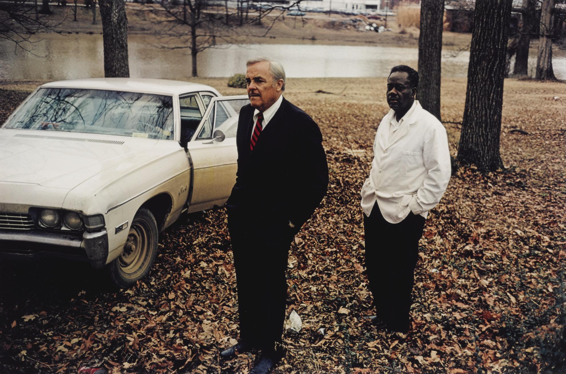 William Eggleston-Untitled (Sumner, Mississippi, Cassidy Bayou In The Background)-1971