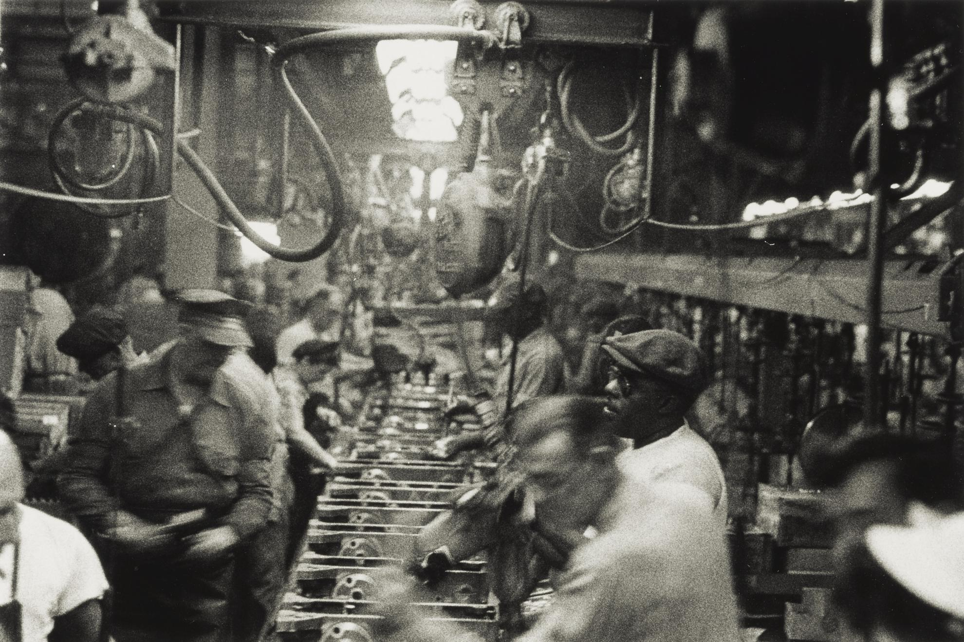 Robert Frank-Assembly Line - Detroit-1955