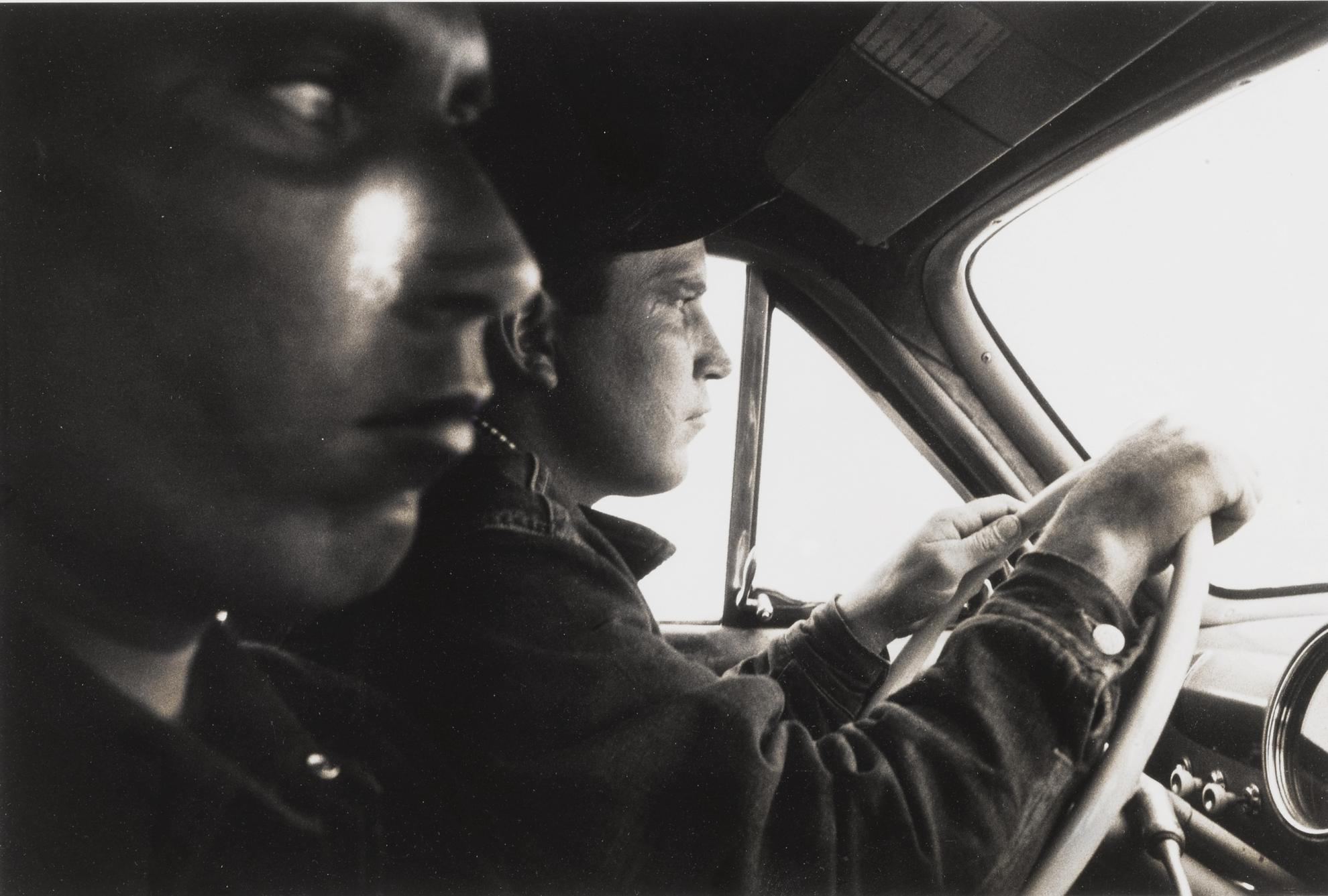 Robert Frank-U. S. 91, Leaving Blackfoot, Idaho-1956