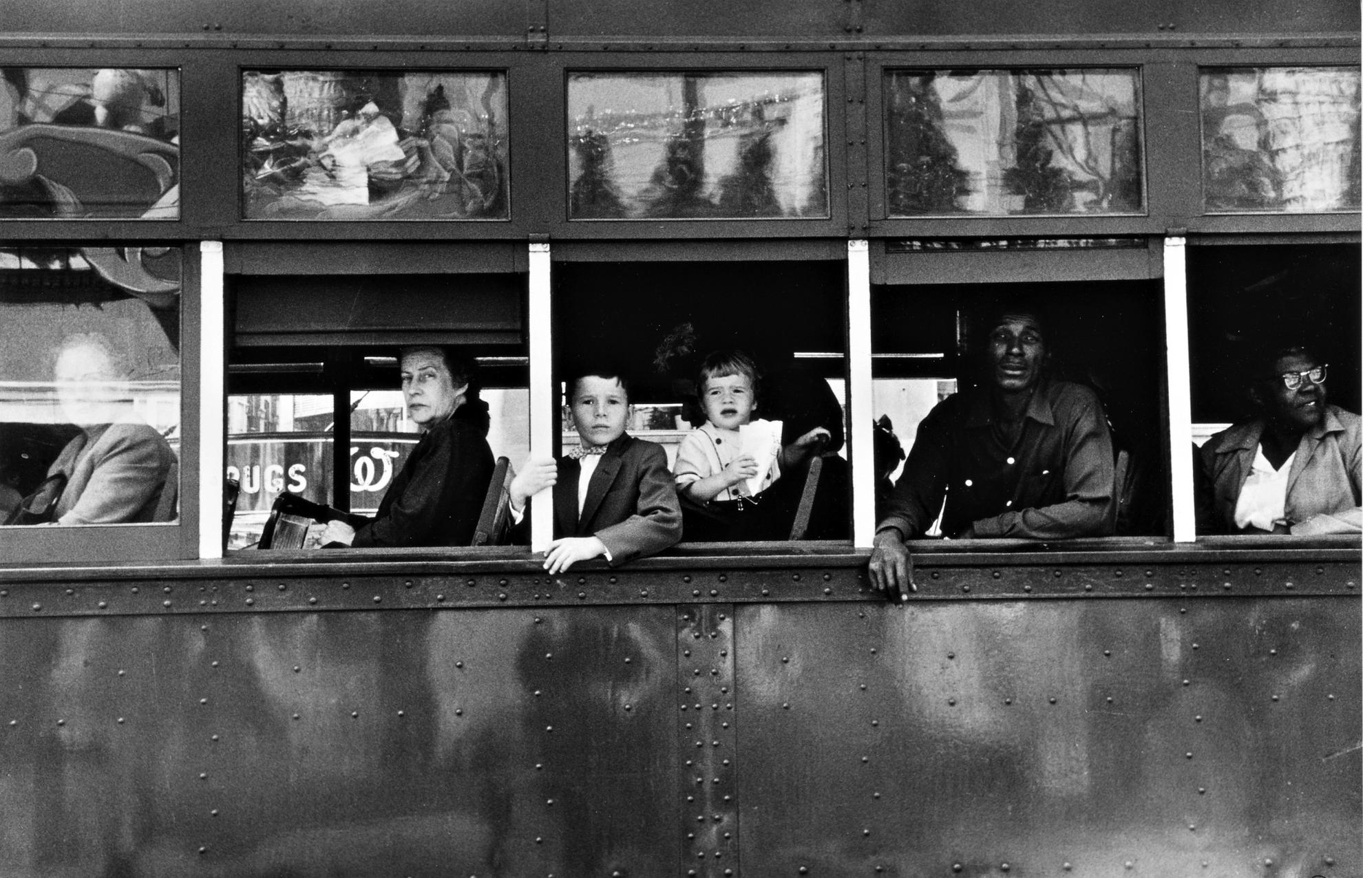 Robert Frank-New Orleans (Trolley)-1955