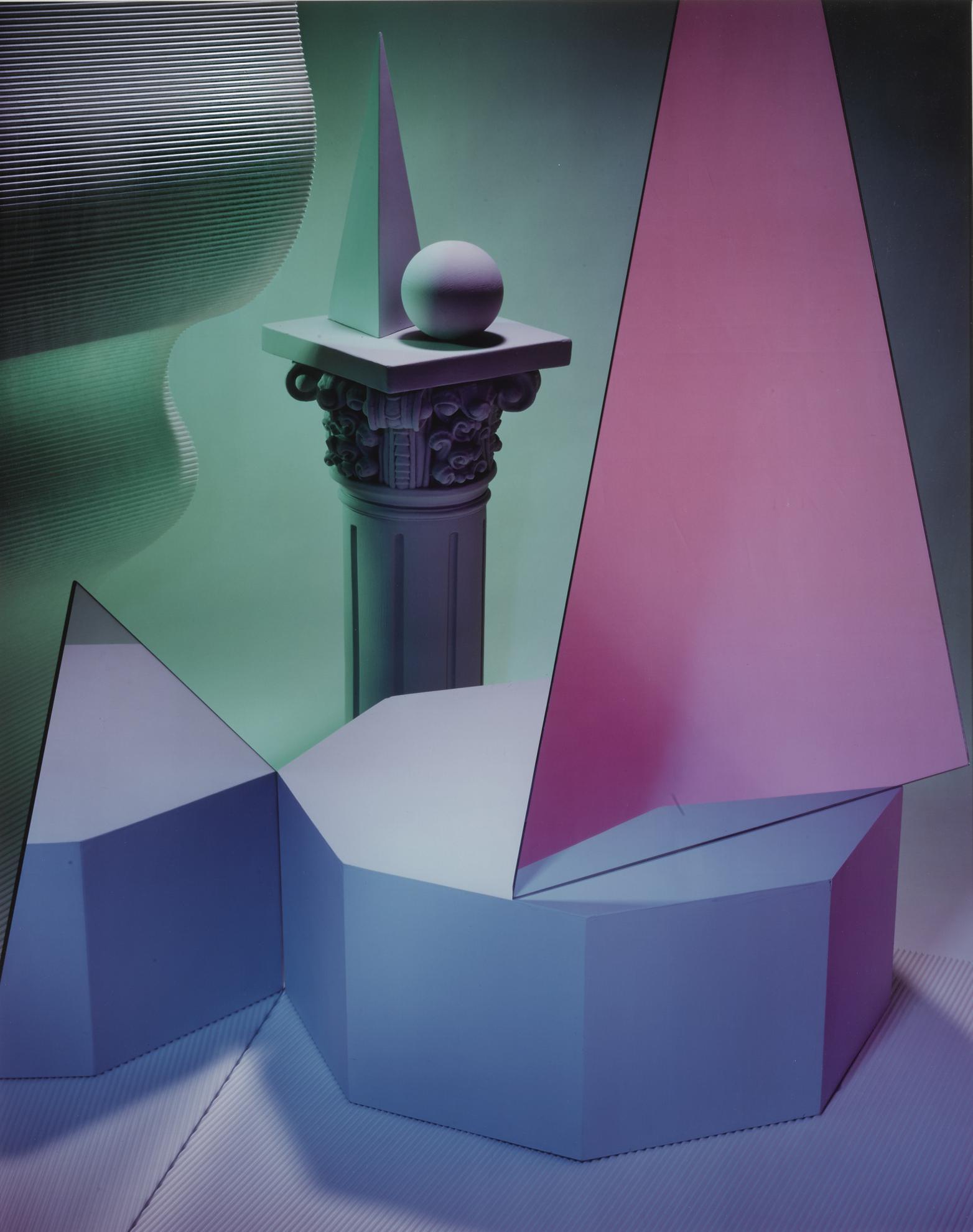Barbara Kasten-Construct XXIII-1984
