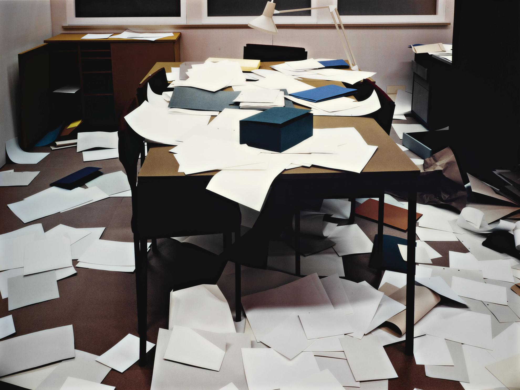 Thomas Demand-Buro (Office)-1995