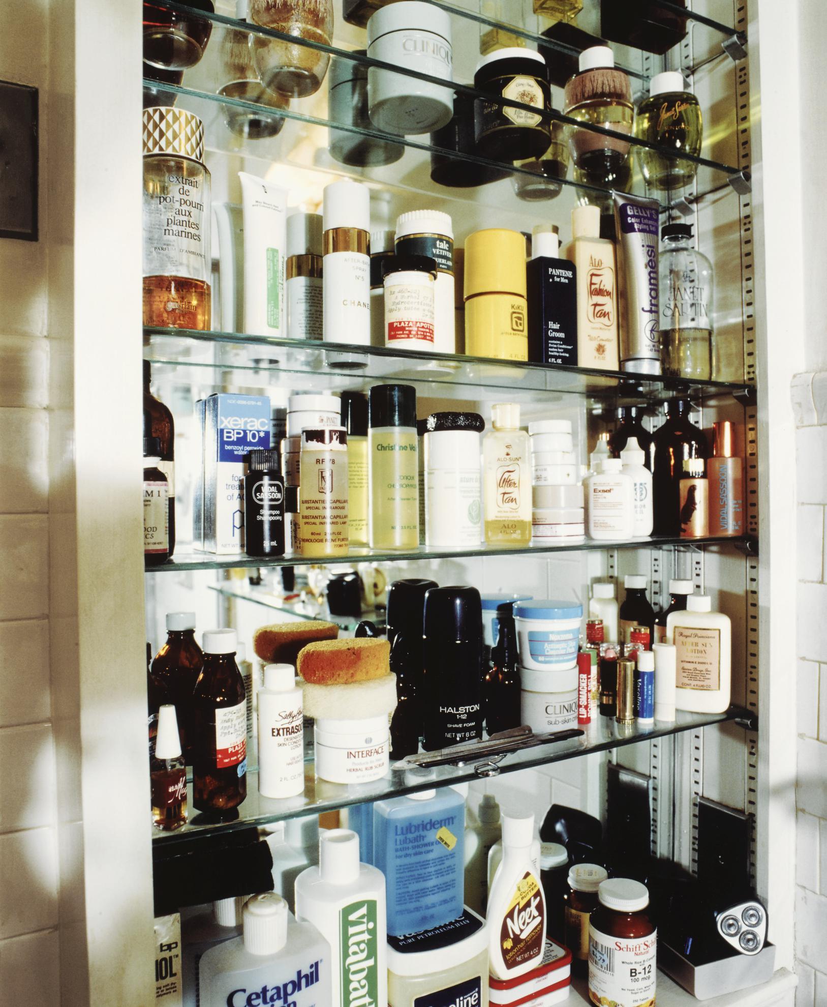 David Gamble - Andy Warhols Medicine Cabinet-1988