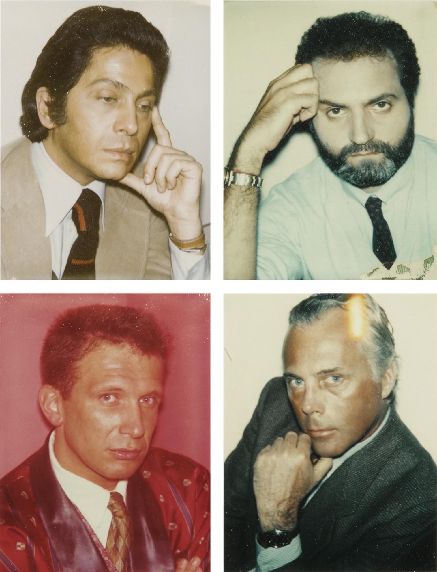 Andy Warhol-Valentino, Versace, Gaultier, Armani-1984