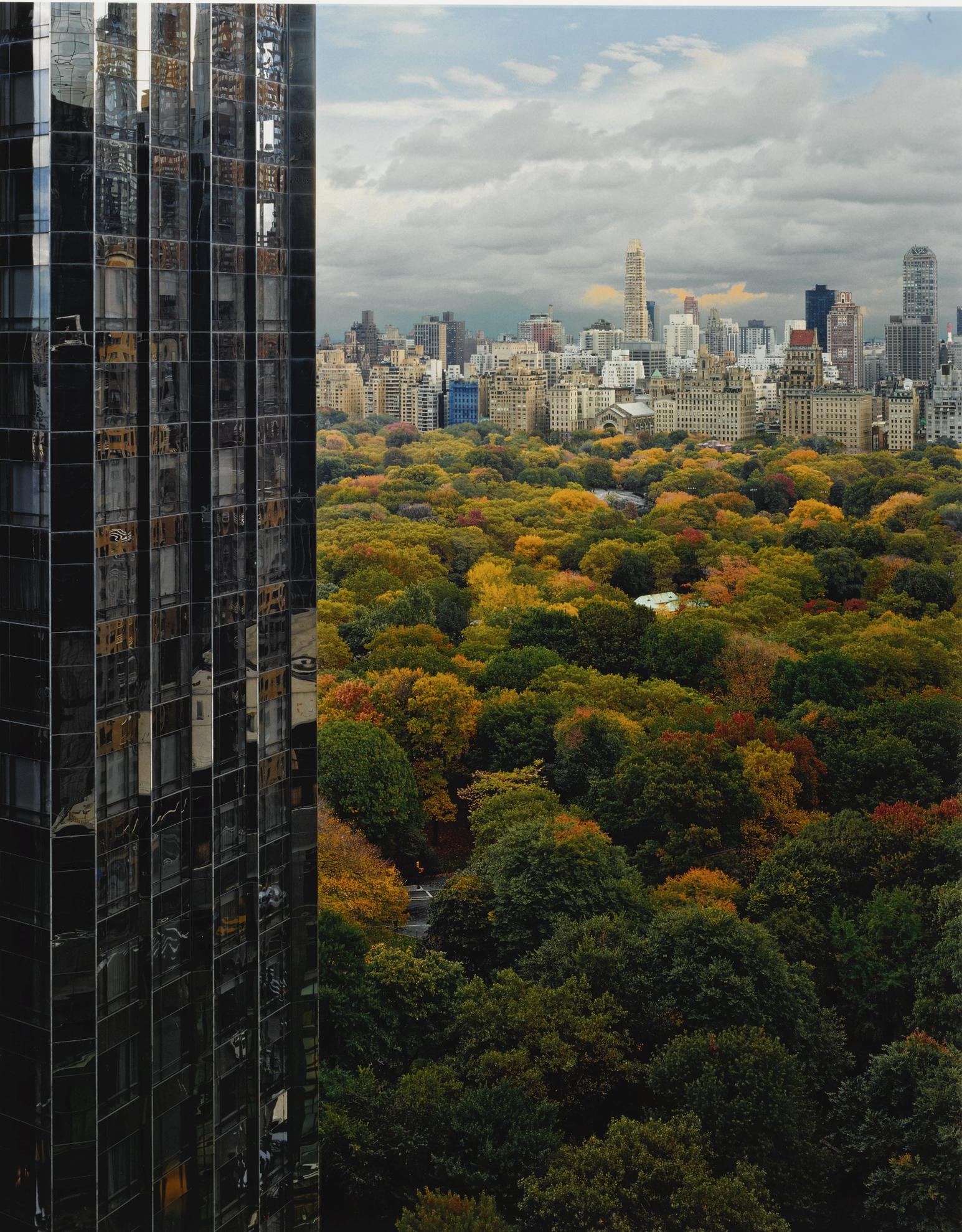 Robert Polidori-View Of Central Park Toward The East, Ny, Ny-2000