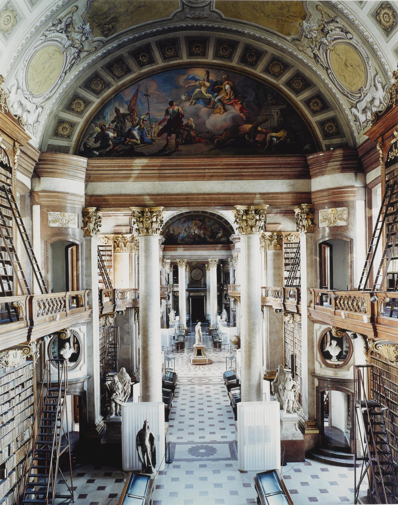 Candida Hofer-Osterreichische Nationalbibliothek Wien VIII-2003