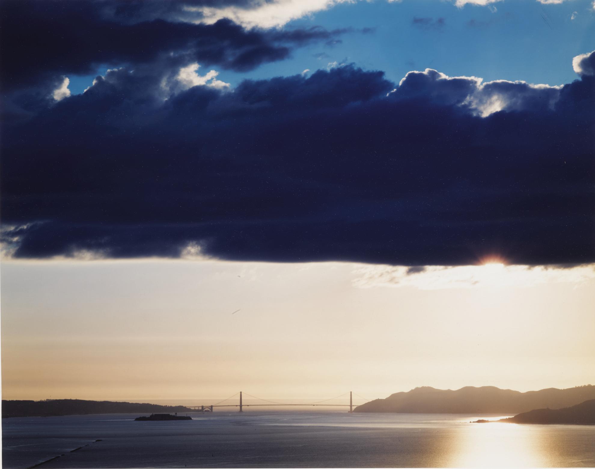 Richard Misrach-Golden Gate Bridge 2.21.00, 5:32 Pm-2000