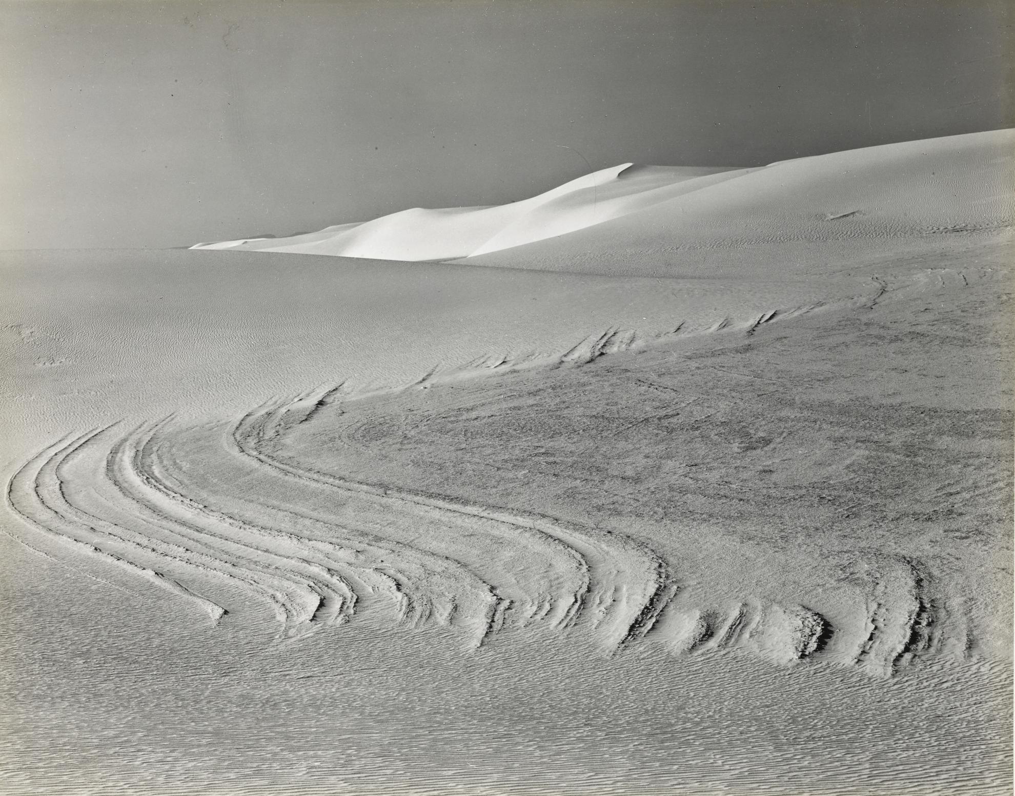 Edward Weston-White Sands, New Mexico-1940