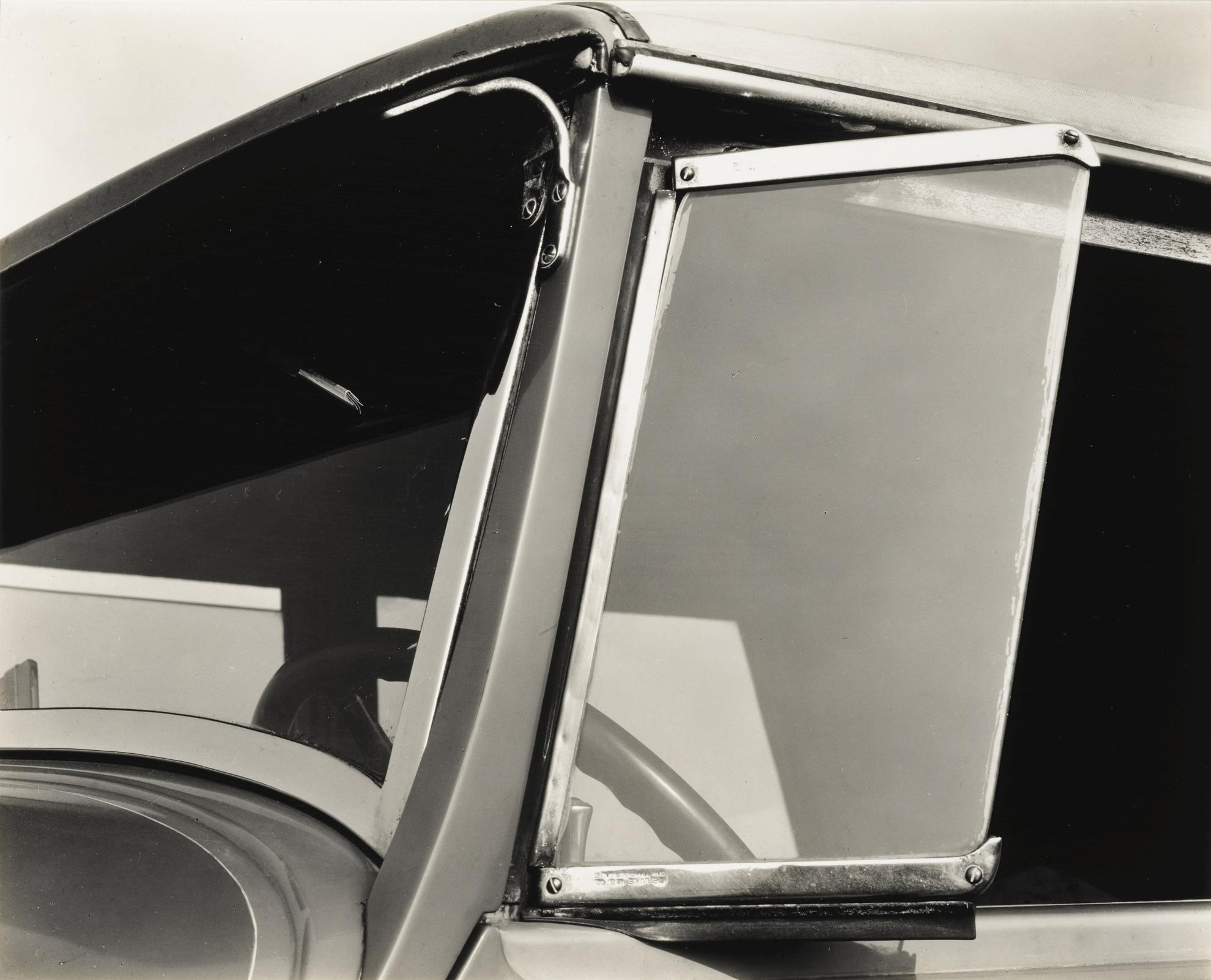 Brett Weston-Untitled (Truck Window, Deluxe U. S. Company, San Francisco)-