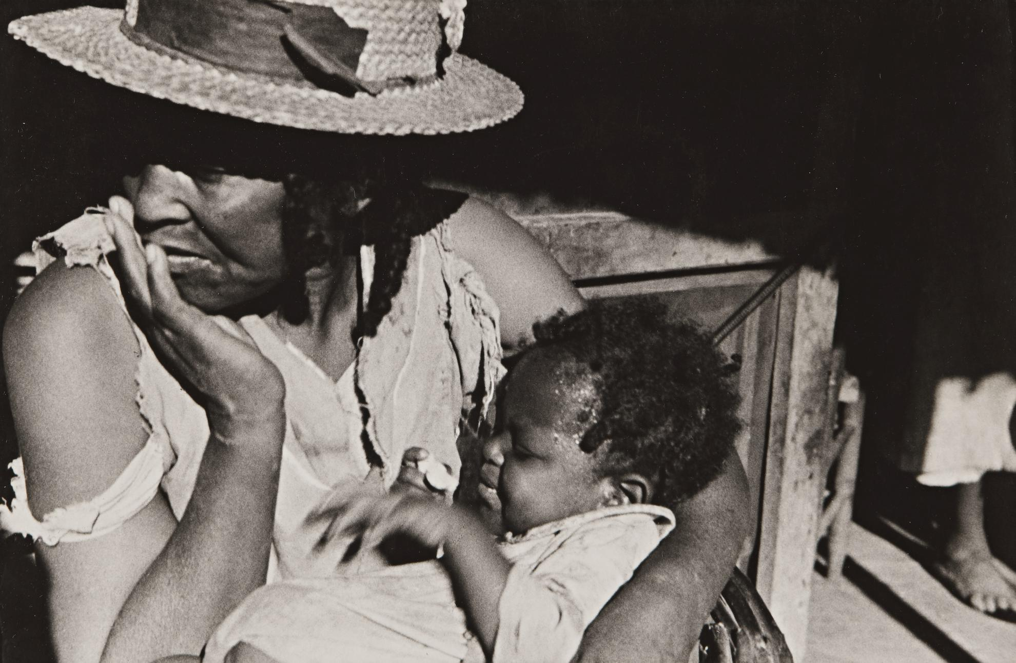 Ben Shahn-Family Of Negro Sharecropper, Little Rock, Arkansas-1935