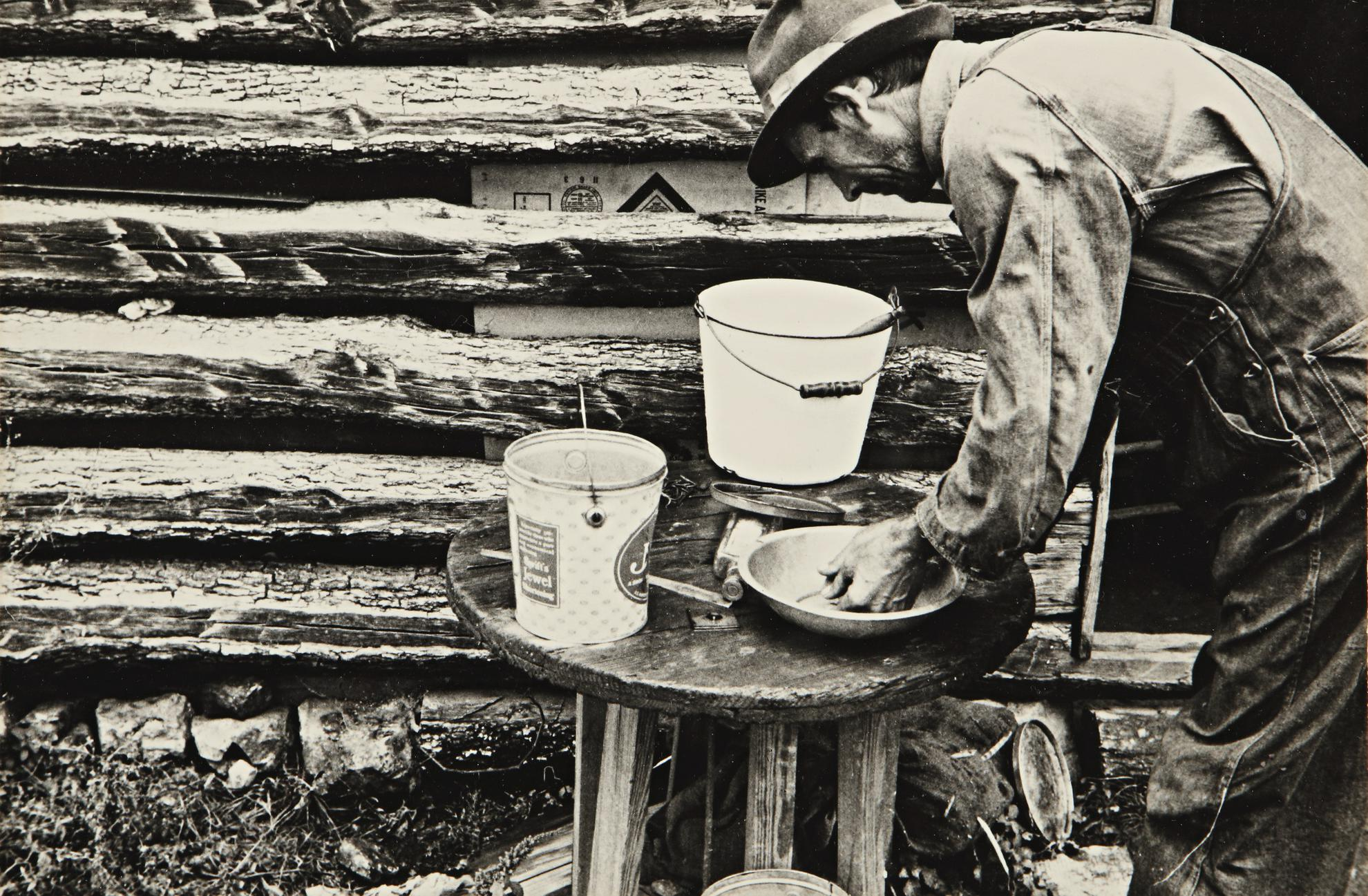 Ben Shahn-Untitled (Rehabilitation Client, Boone County, Arkansas)-1935