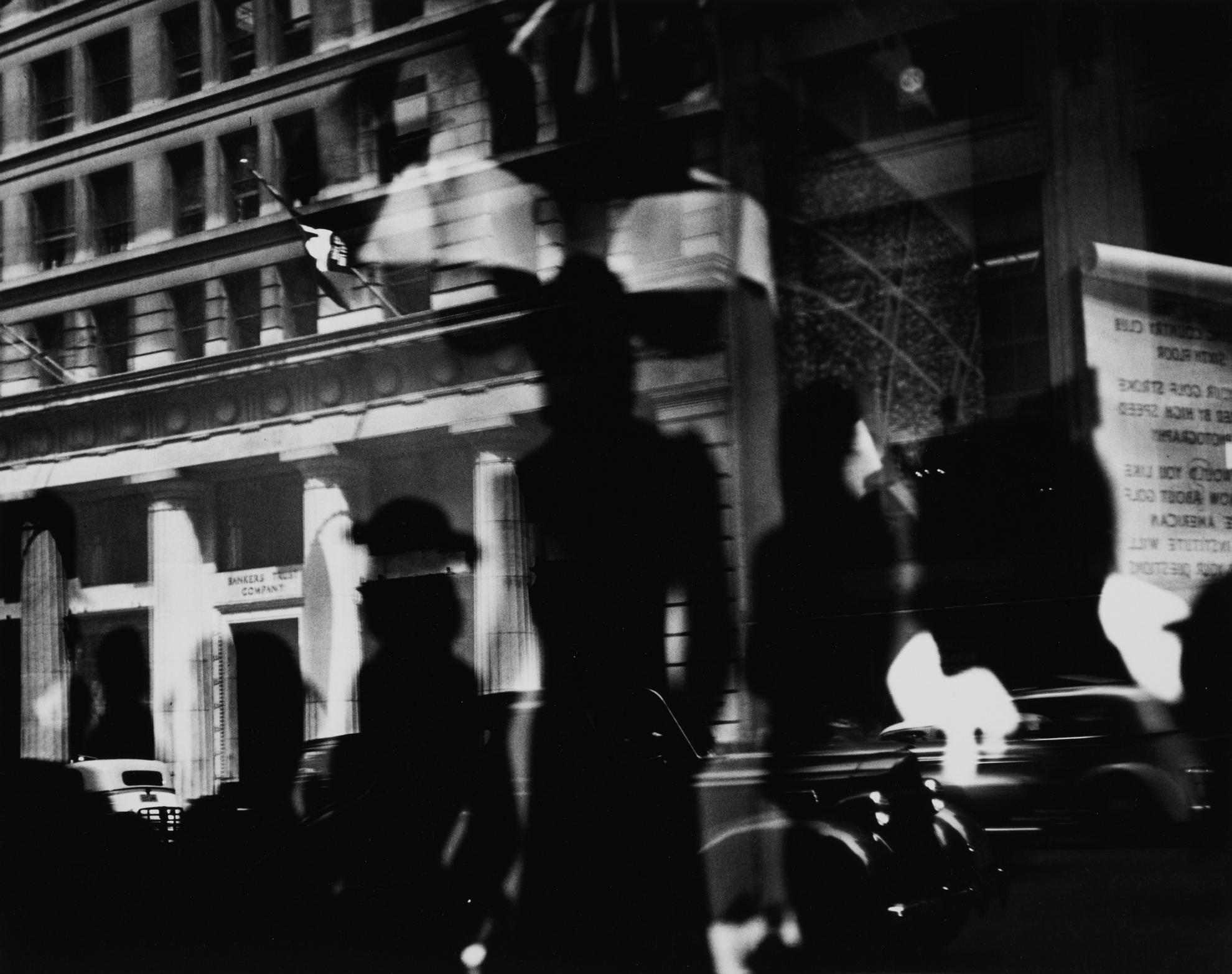 Lisette Model-Reflections, Rockefeller Center, New York-1945