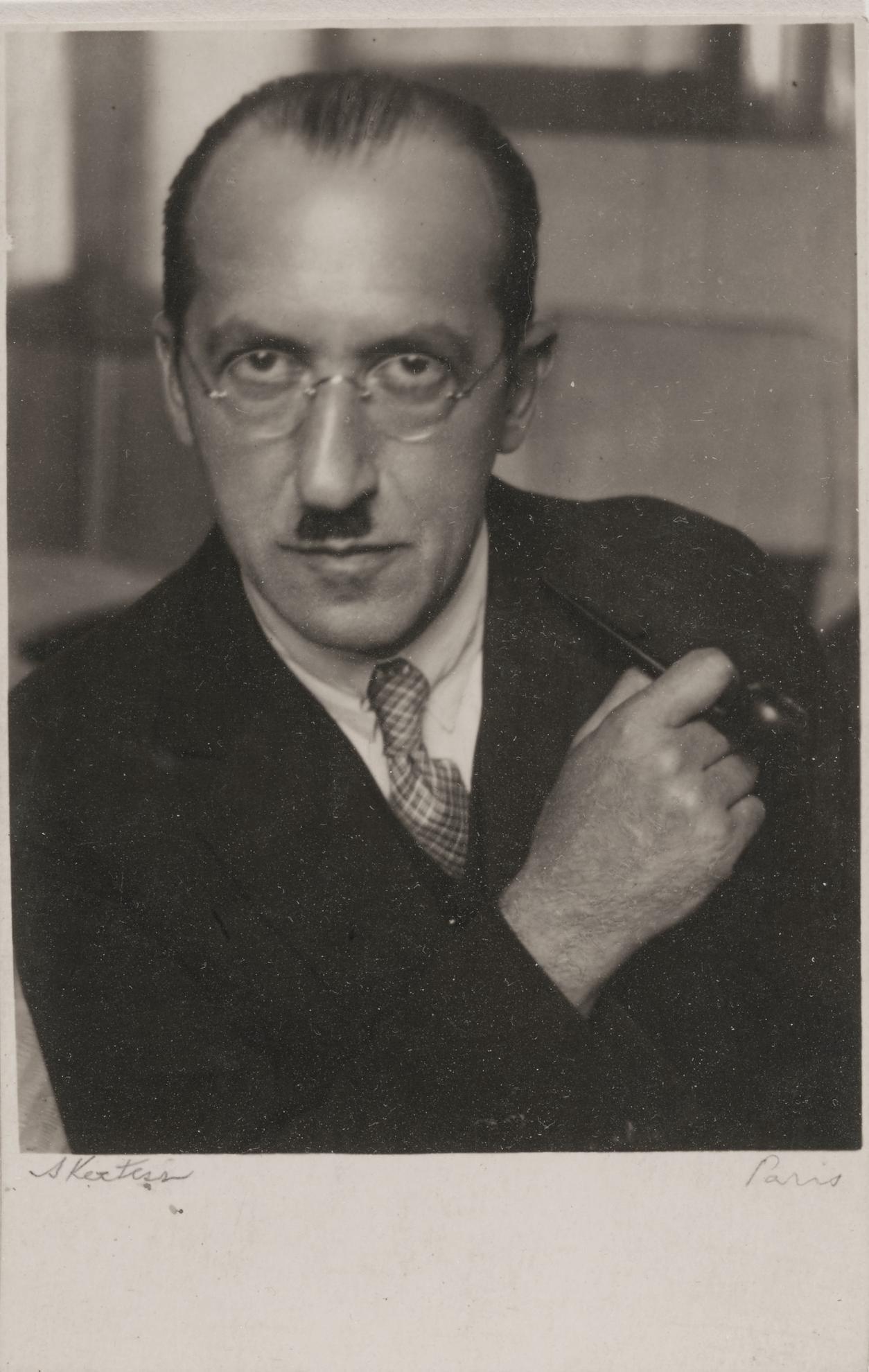 Andre Kertesz-Piet Mondrian-1926