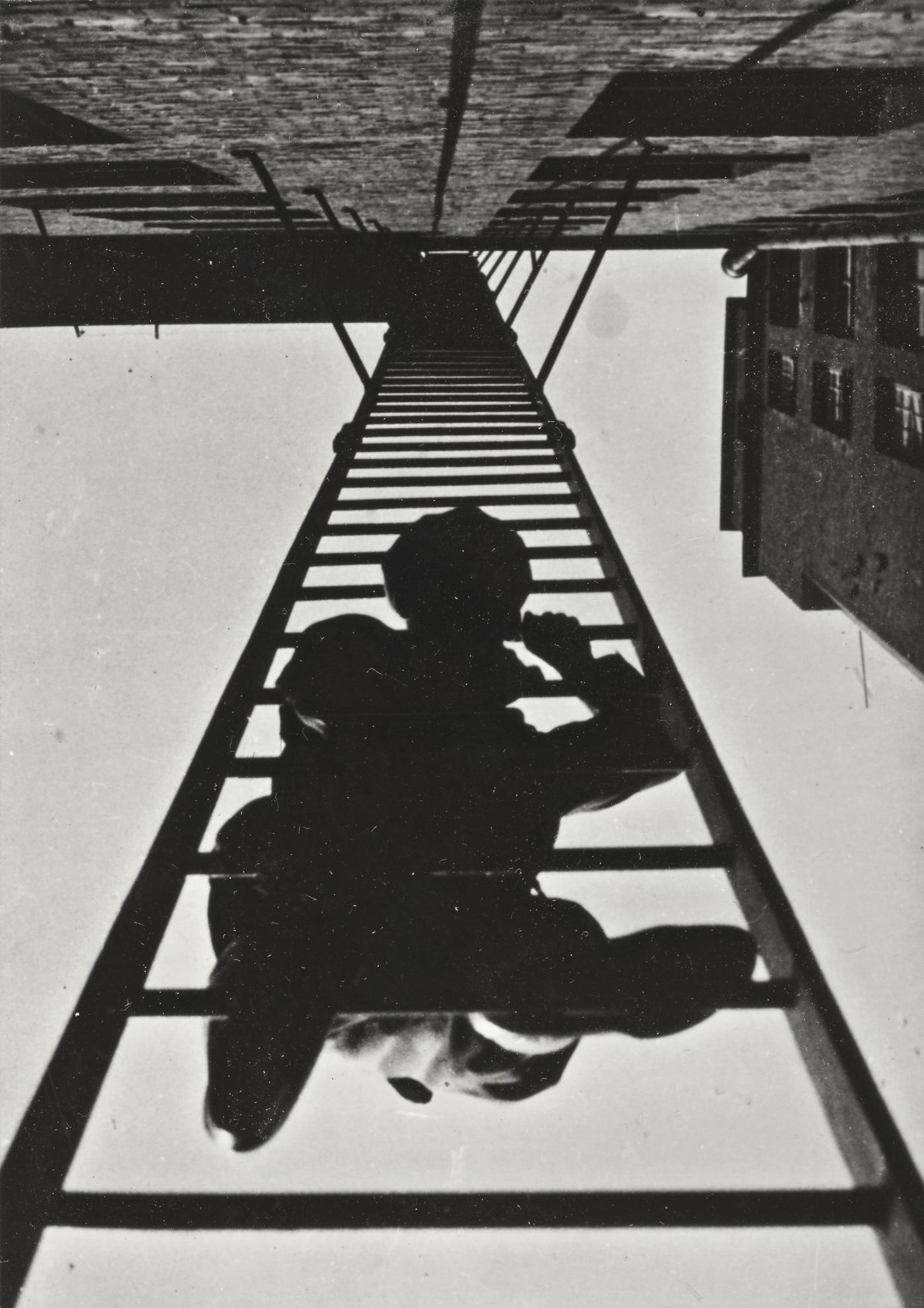 Aleksandr Rodchenko - Fire Escape (From Building On Miasnitskaia Street)-1925