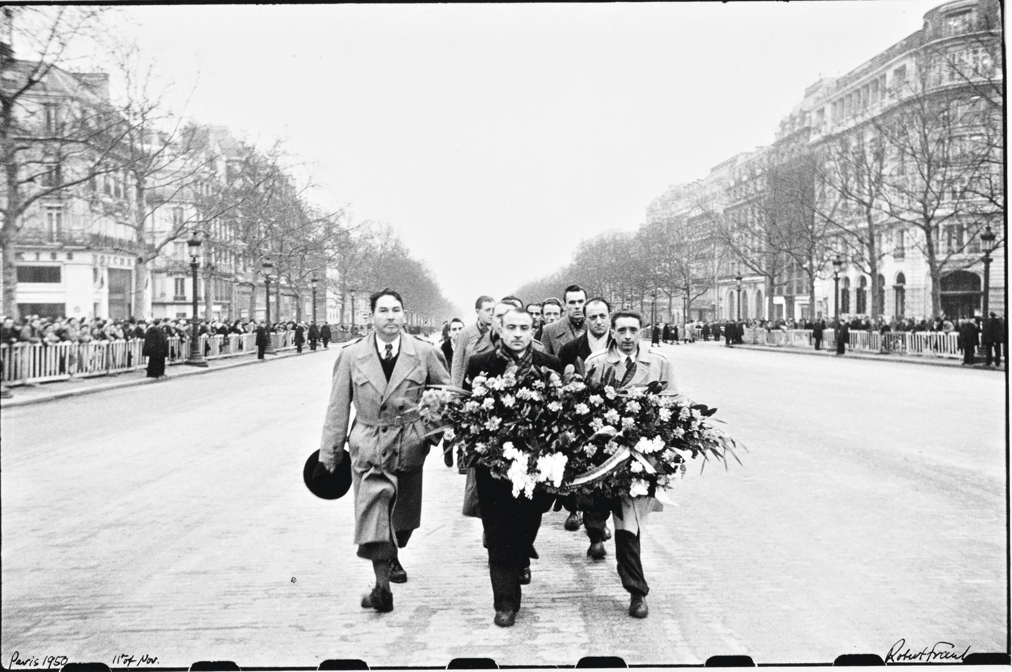 Robert Frank-11Th Of Nov. (Champs-Elysees, November 11Th, Paris)-1950