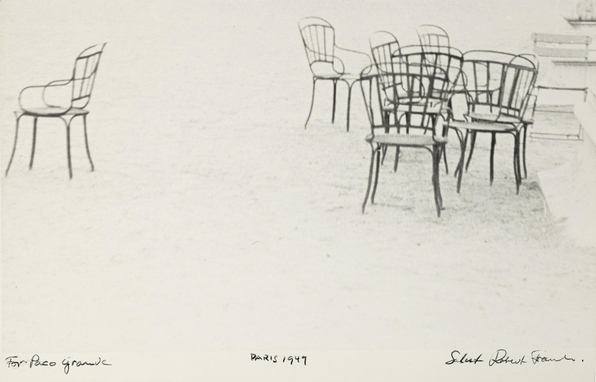 Robert Frank-Paris (Chairs)-1949