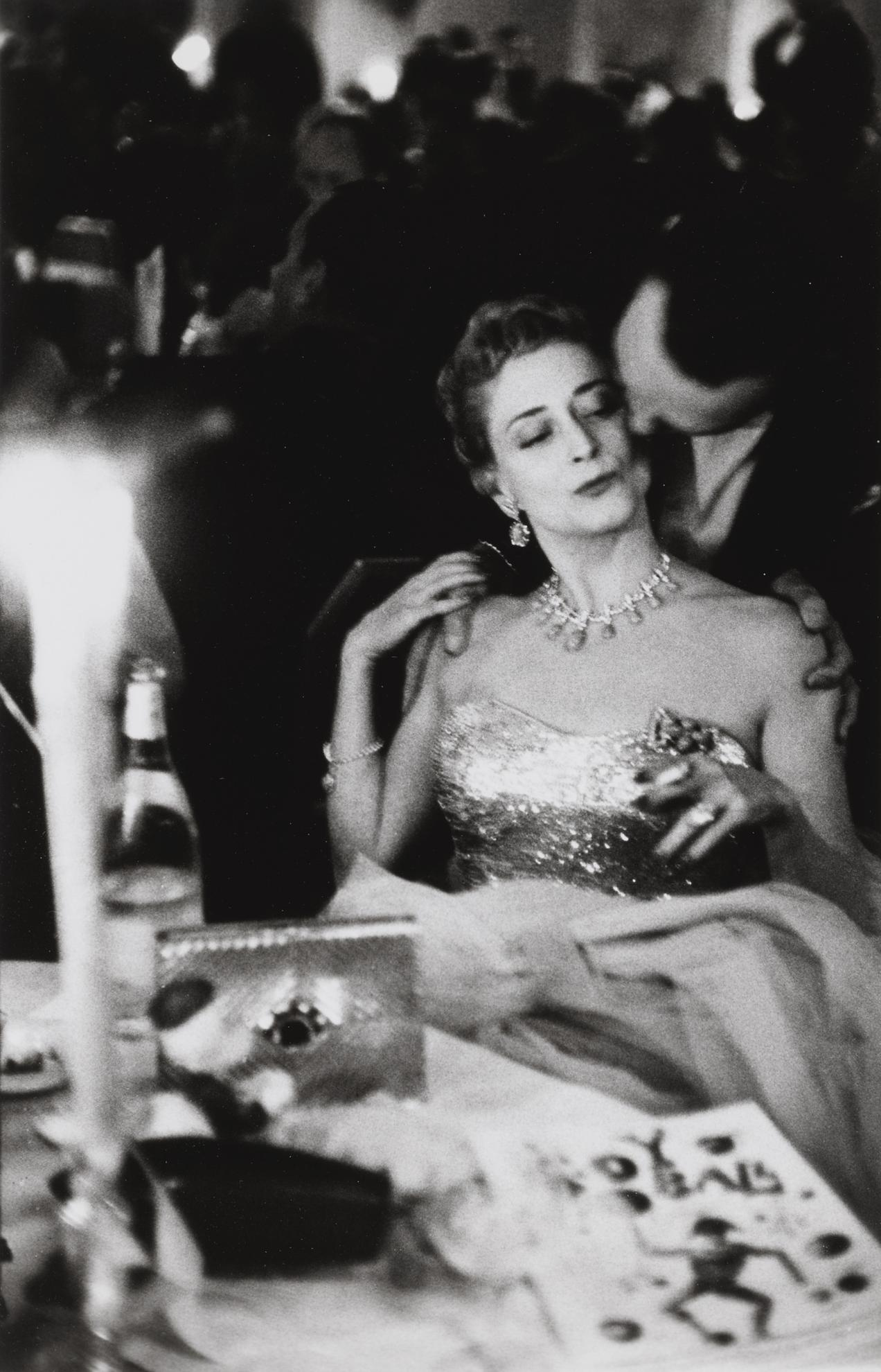 Robert Frank-Nyc (Charity Ball, New York City)-1955