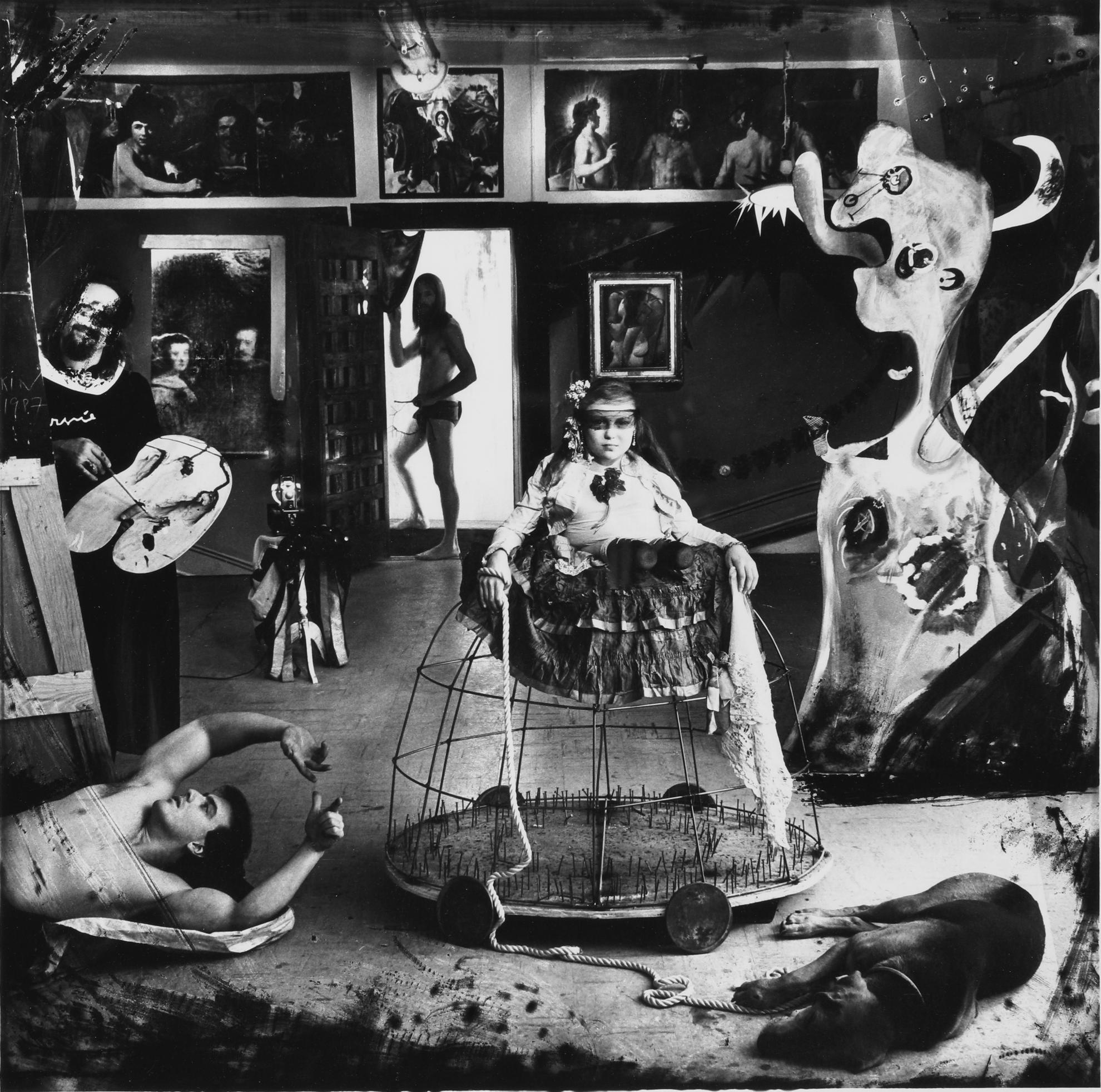Joel-Peter Witkin-Las Meninas-1987
