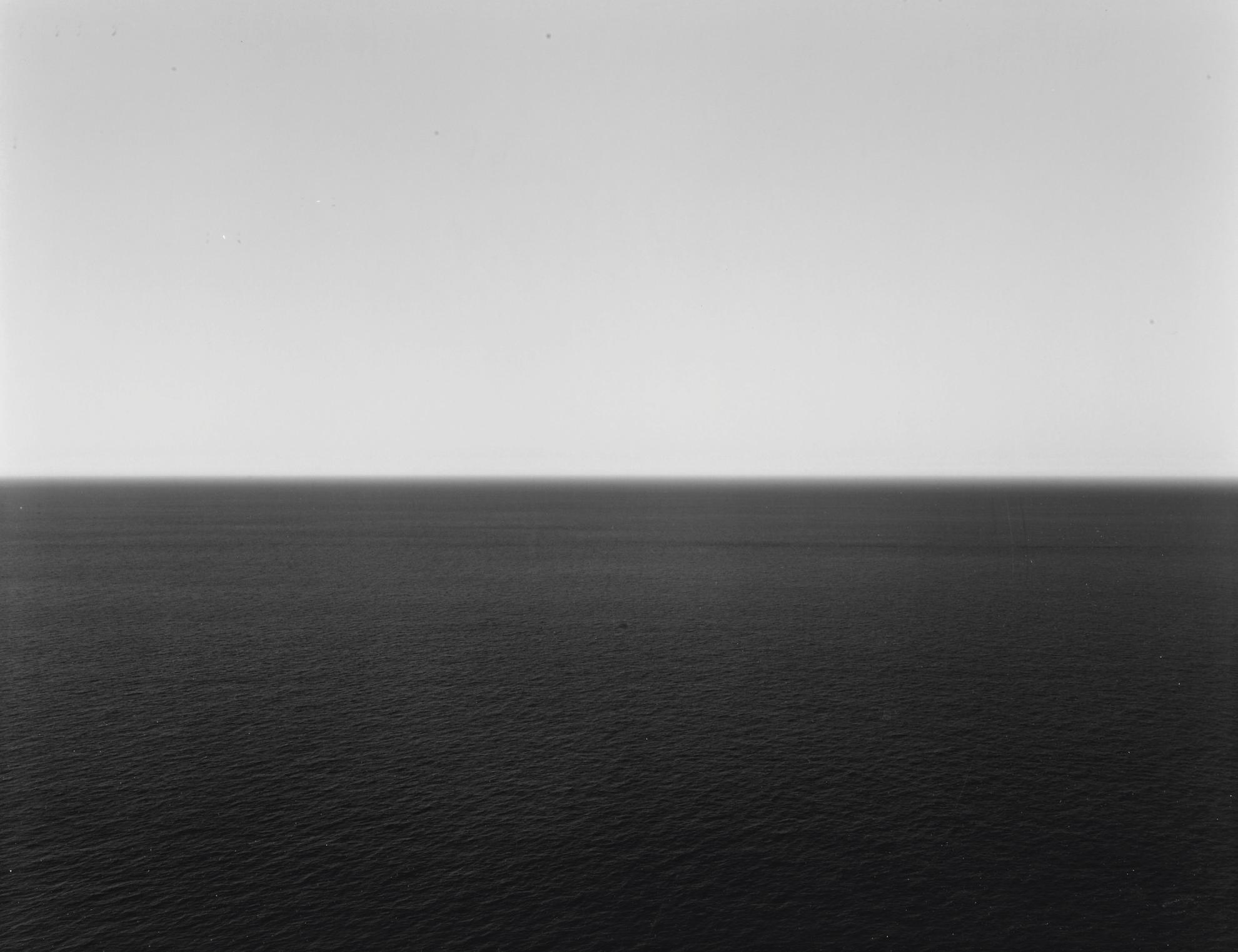 Hiroshi Sugimoto-Tyrrhenian Sea, Positano-1990
