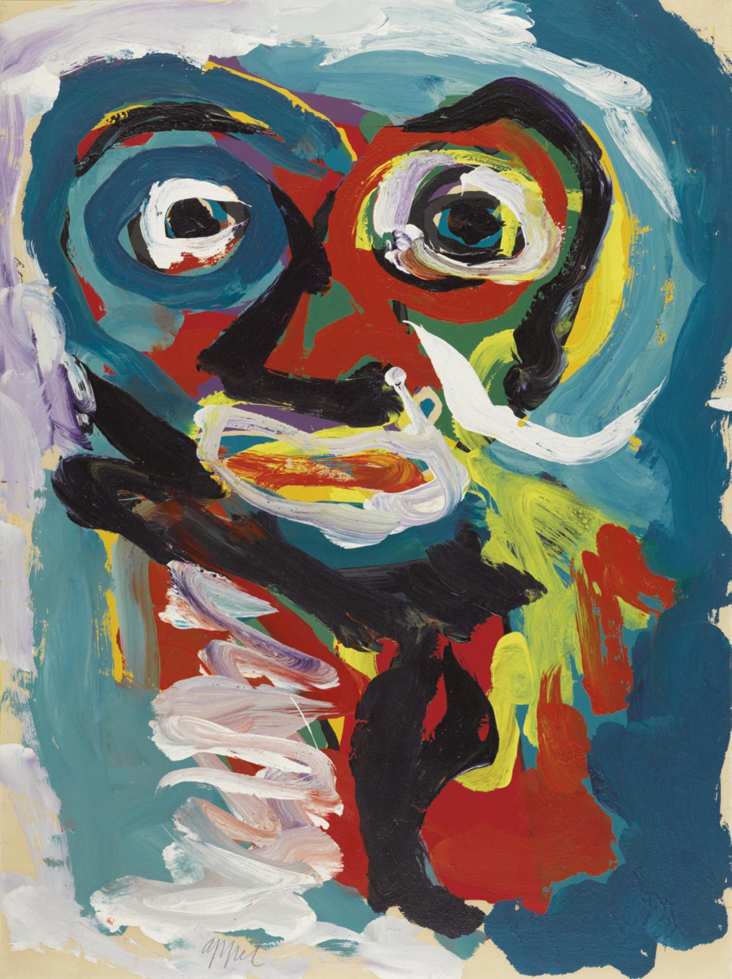Karel Appel-Untitled-1983