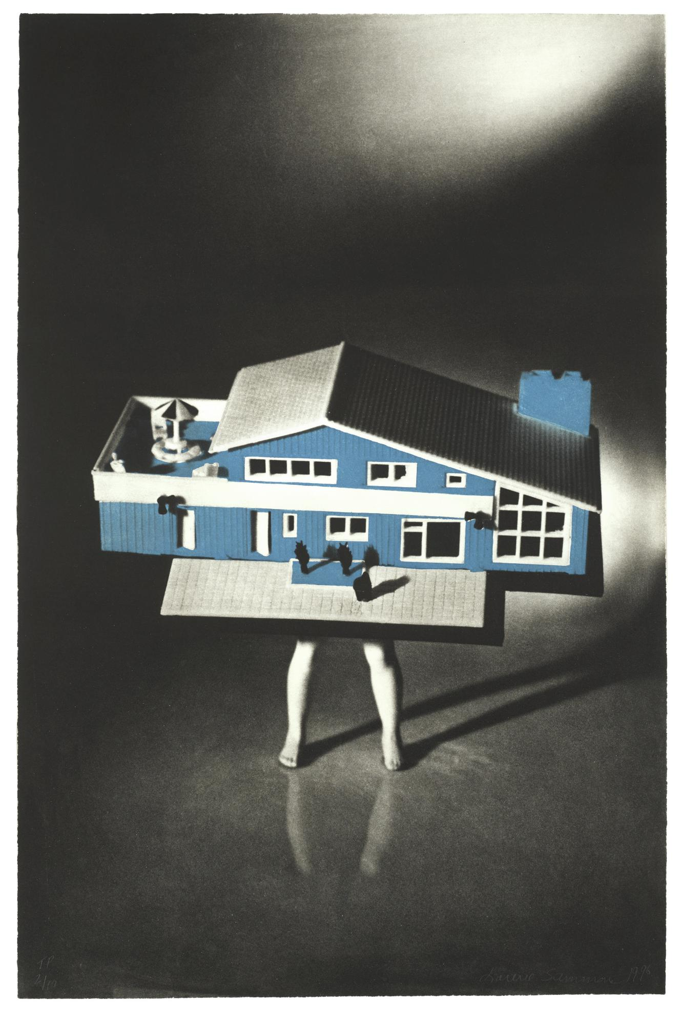 Laurie Simmons-Walking House-1996