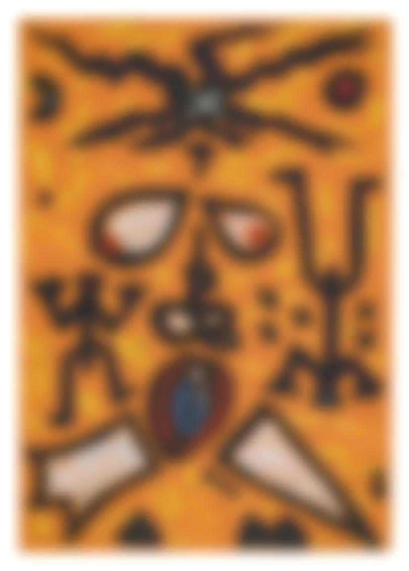 A.R. Penck-Untitled-1991