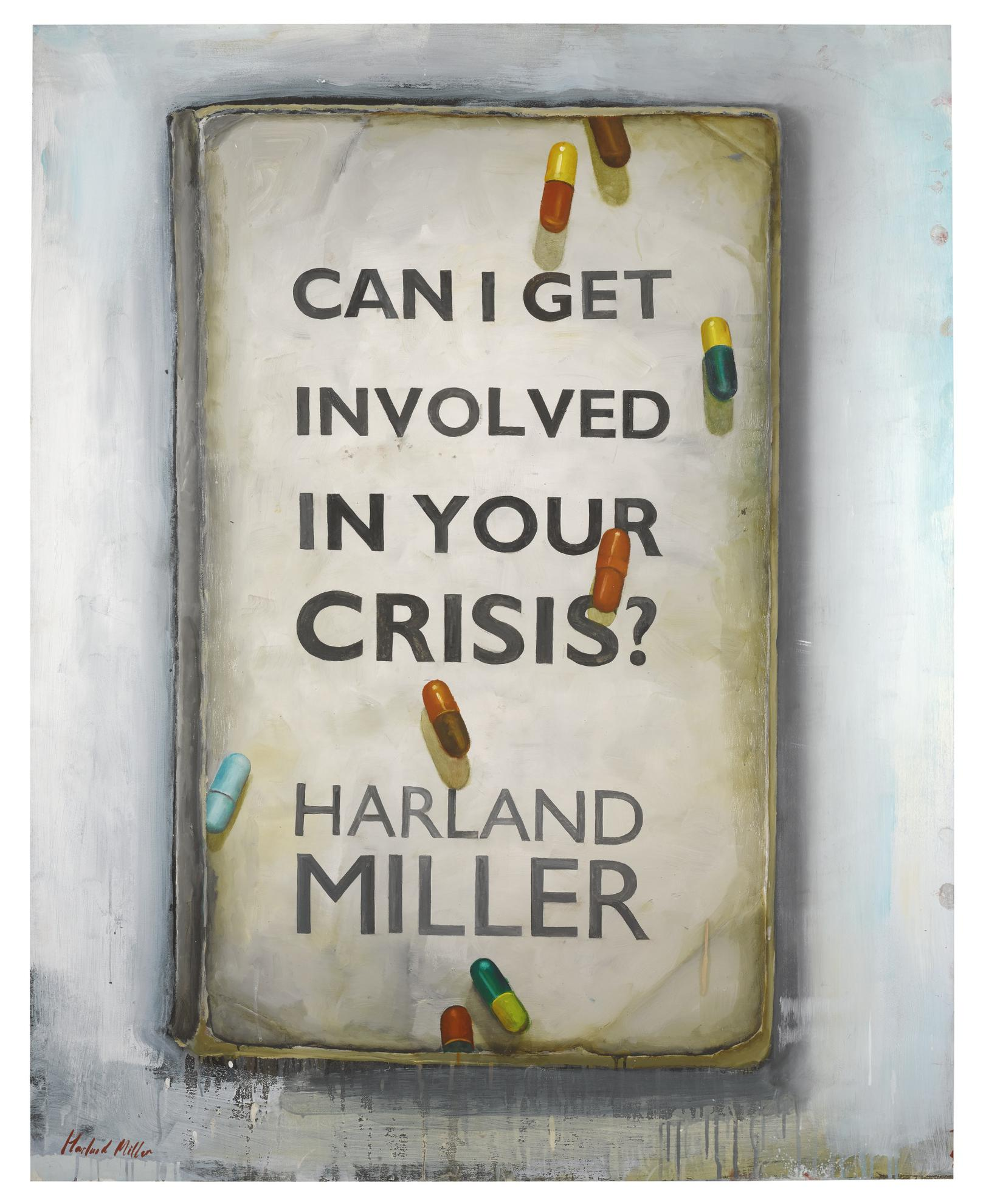 Harland Miller-Can I Get Involved In Your Crisis?-2016