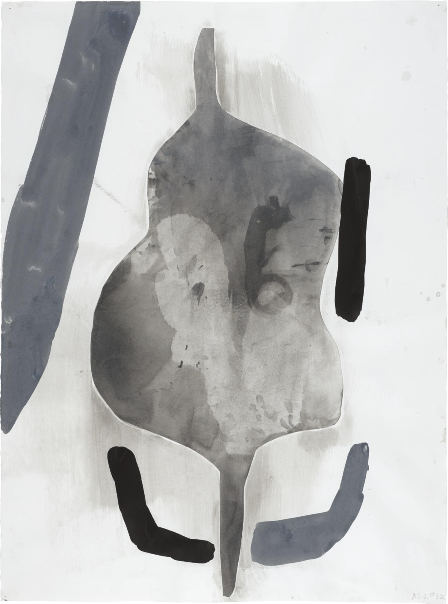 Amy Sillman-A Shape That Stands Up And Listens #32-2012