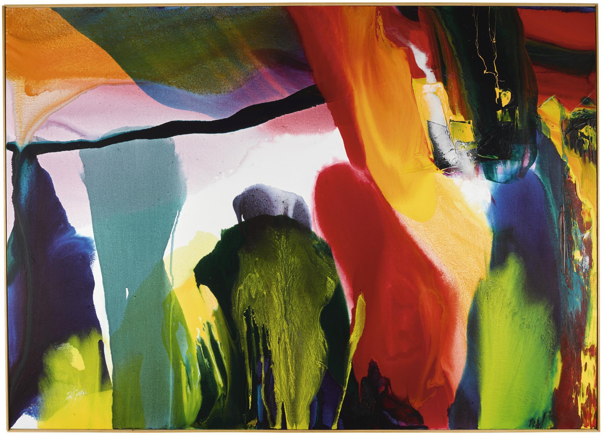 Paul Jenkins-Phenomena Solstice Encounter-2003