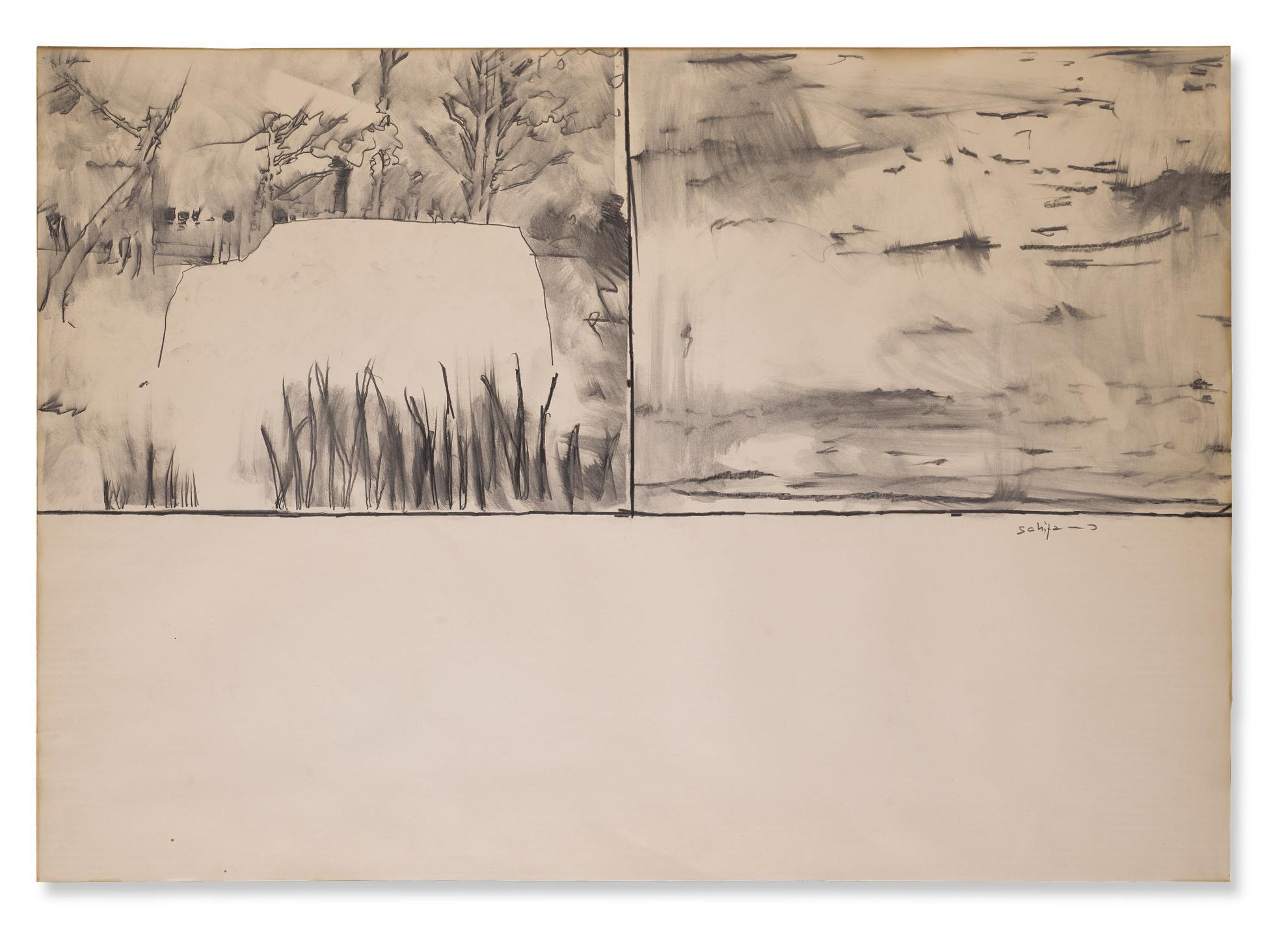 Mario Schifano-Senza Titolo-1963