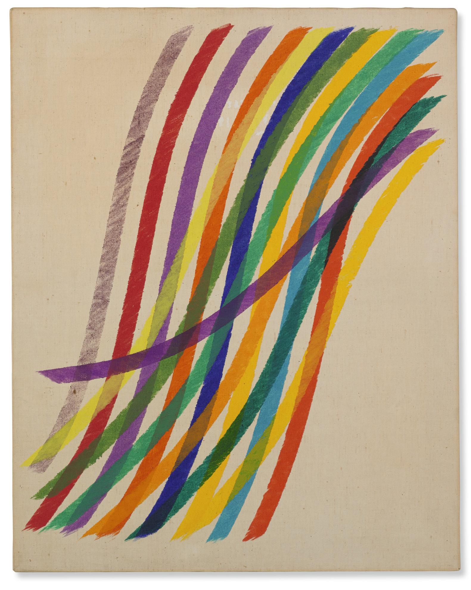 Piero Dorazio-Violetta-1966