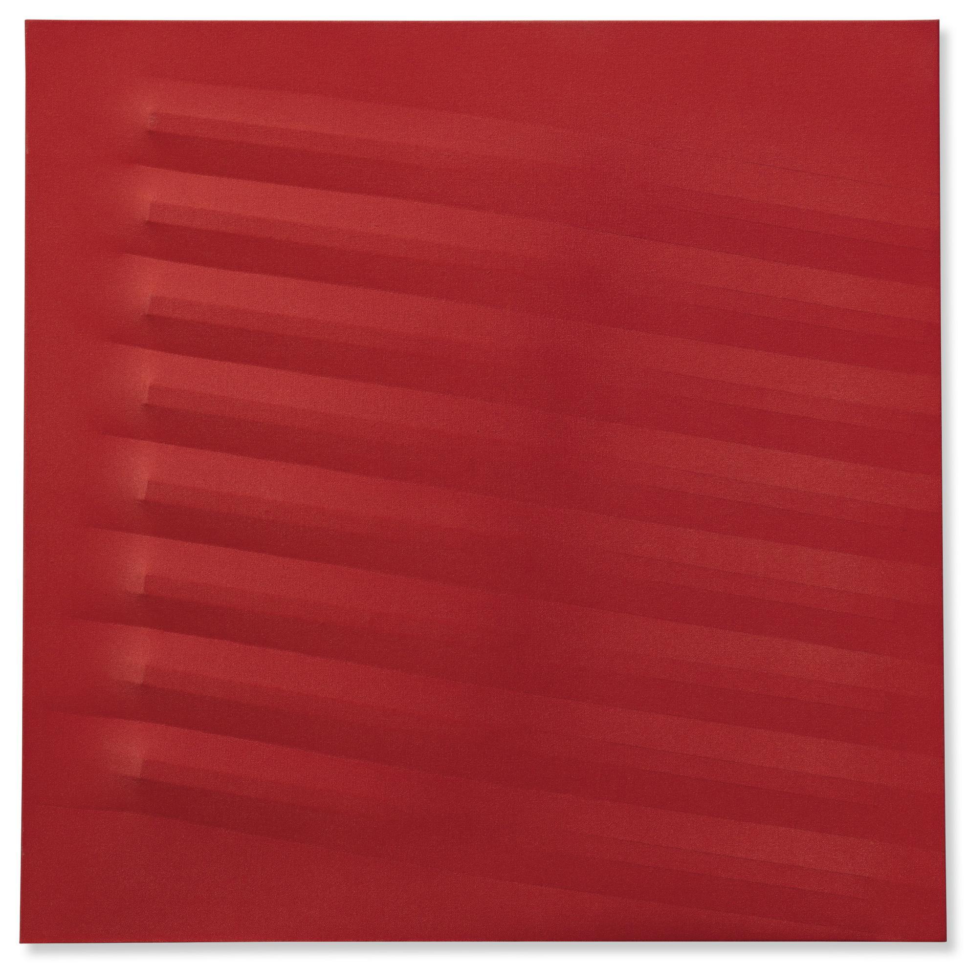 Agostino Bonalumi-Rosso-1979