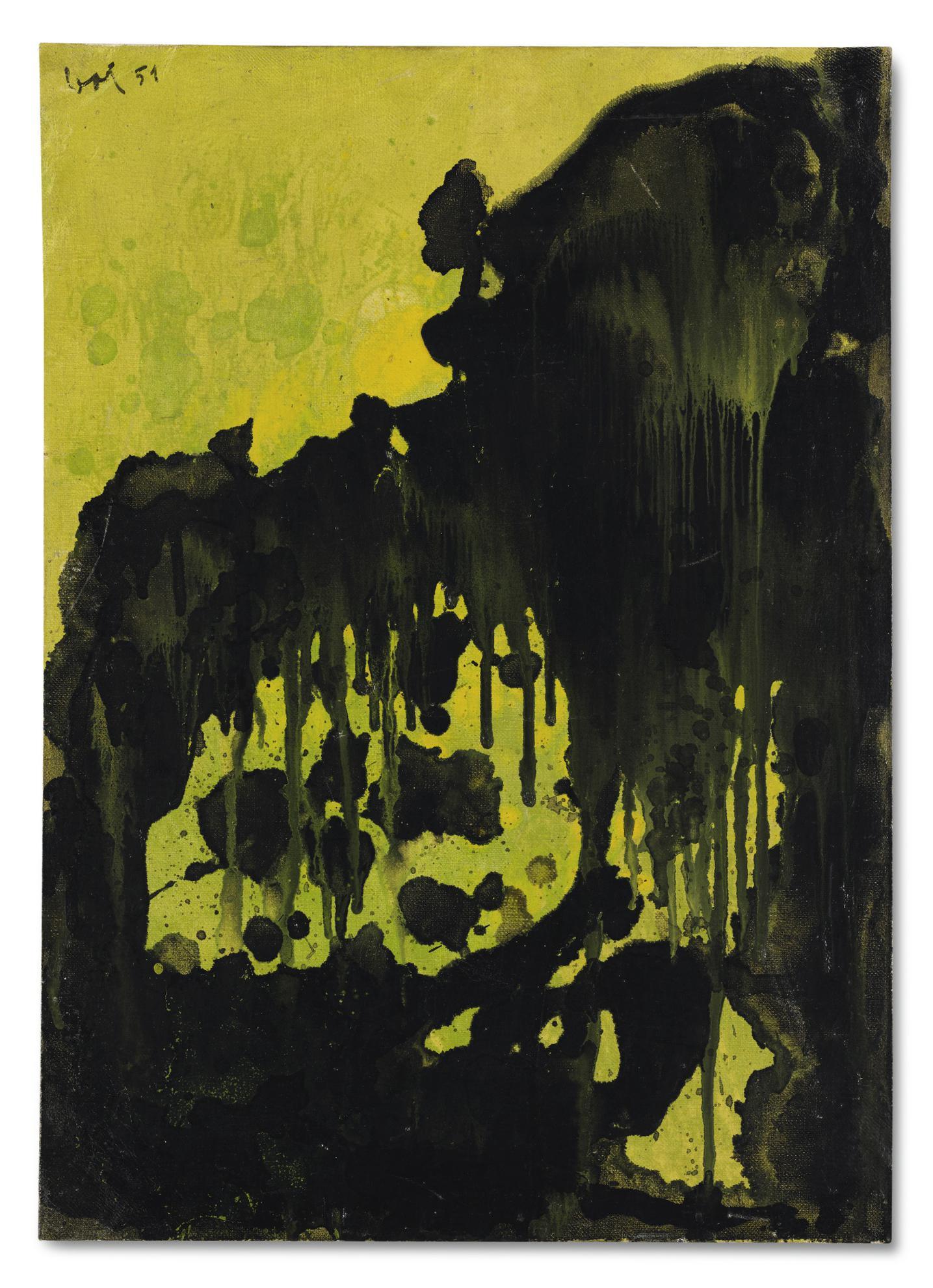 Enrico Baj-Composizione Nucleare-1951