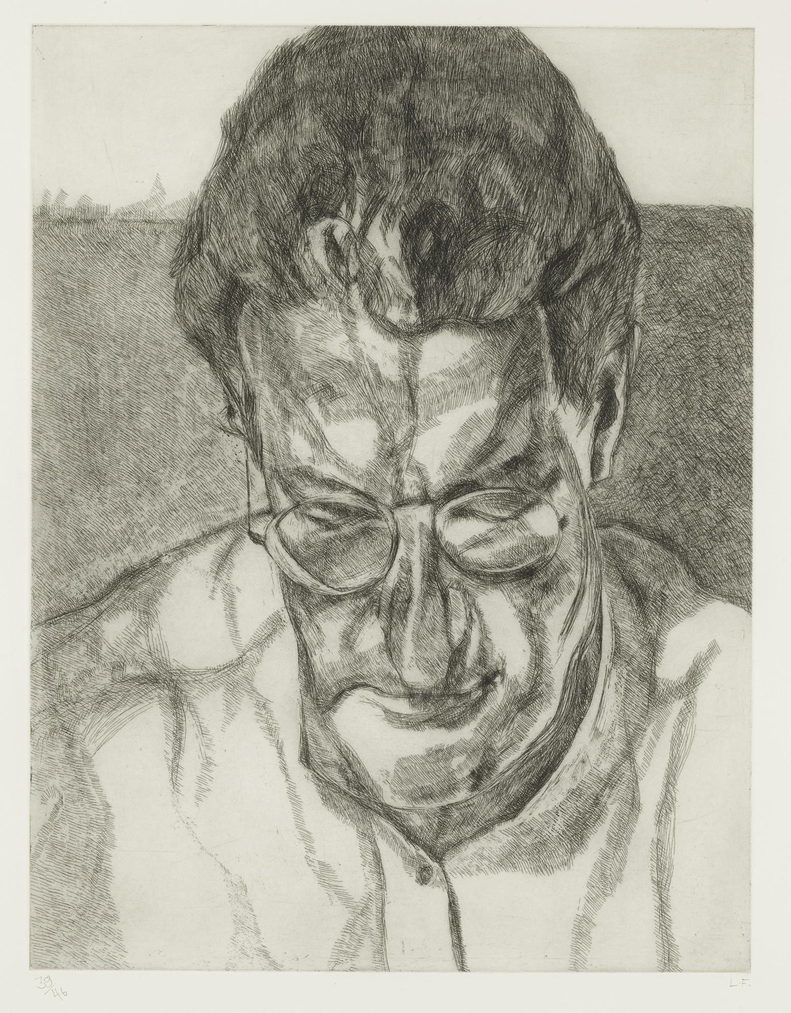 Lucian Freud-The Painters Doctor (F. 86)-2006