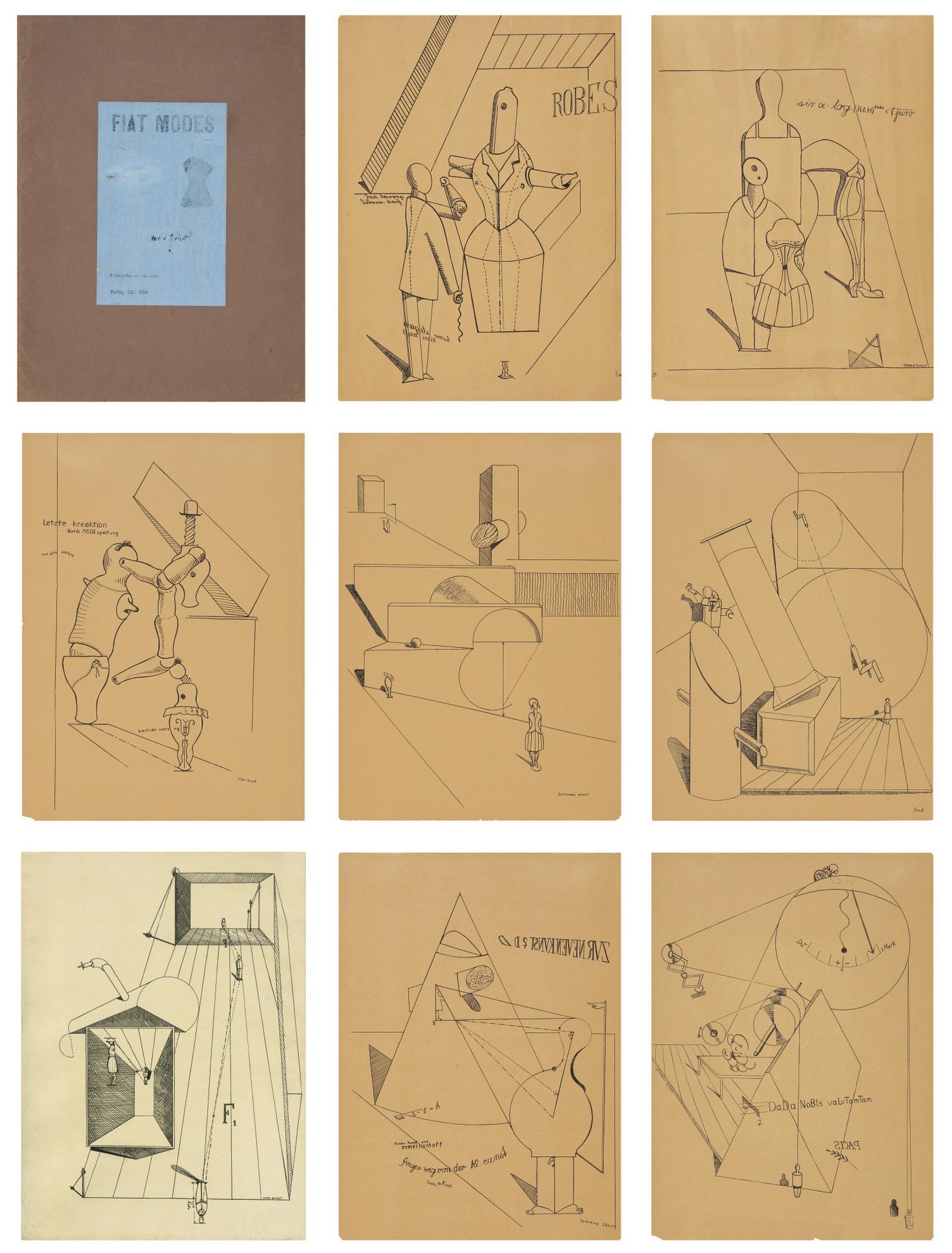 Max Ernst-Fiat Modes Pereat Ars (Spies & Leppien 7)-1919