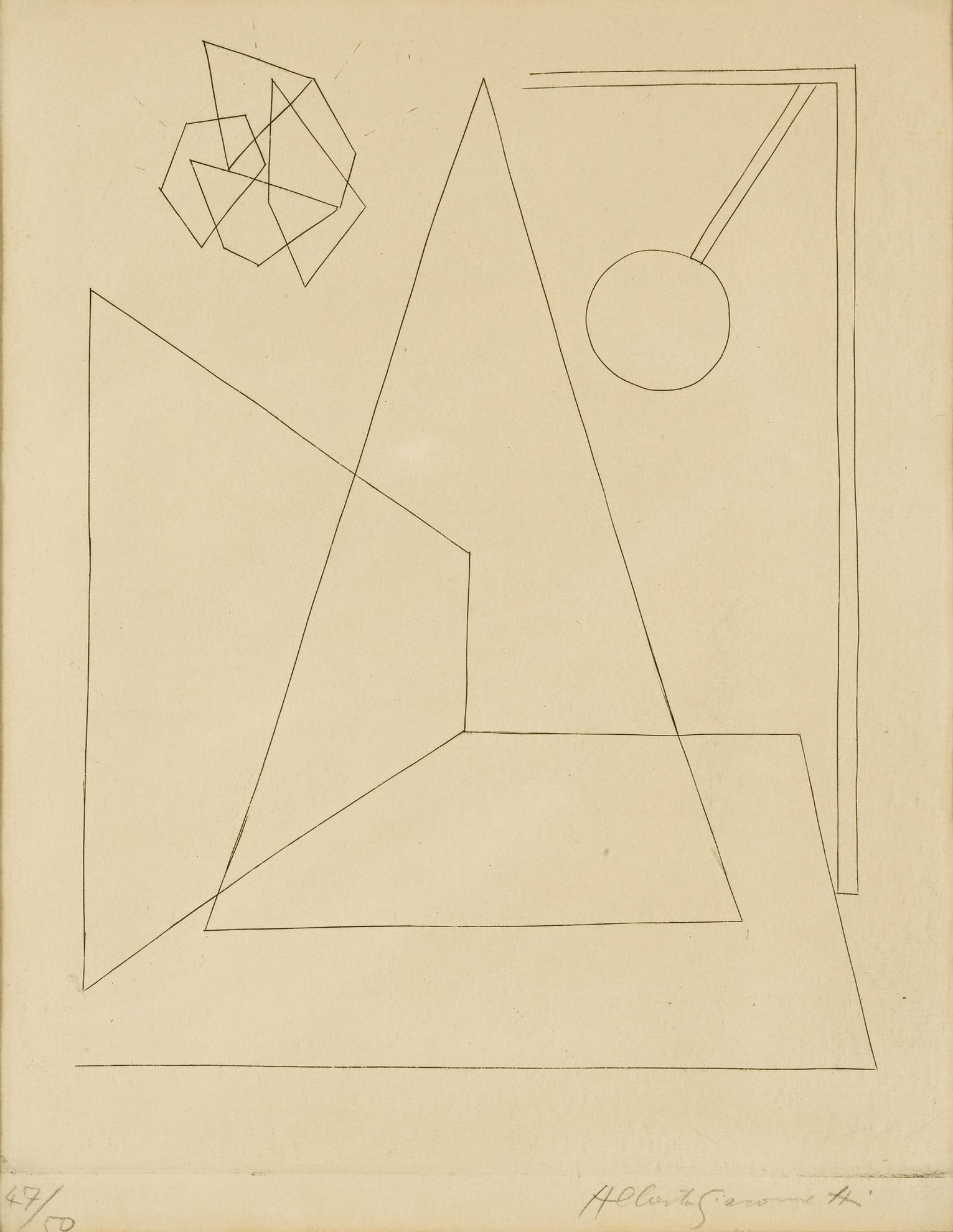 Alberto Giacometti-Untitled (Lust 80)-1935