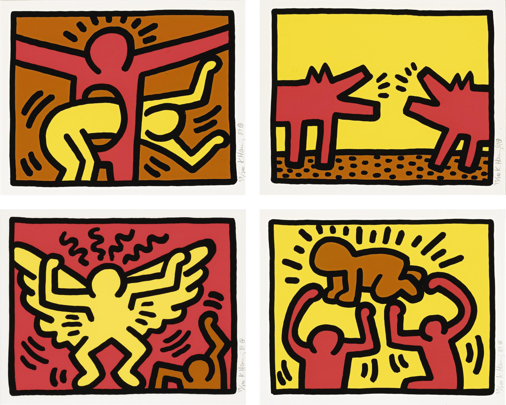 Keith Haring-Pop Shop Iv (L. Pp. 146-47)-1989