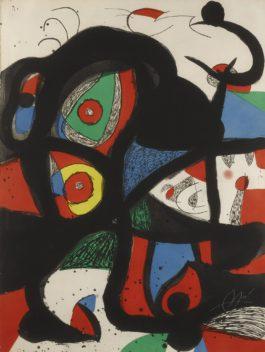 Joan Miro-Gargantua (Dupin 972)-1977