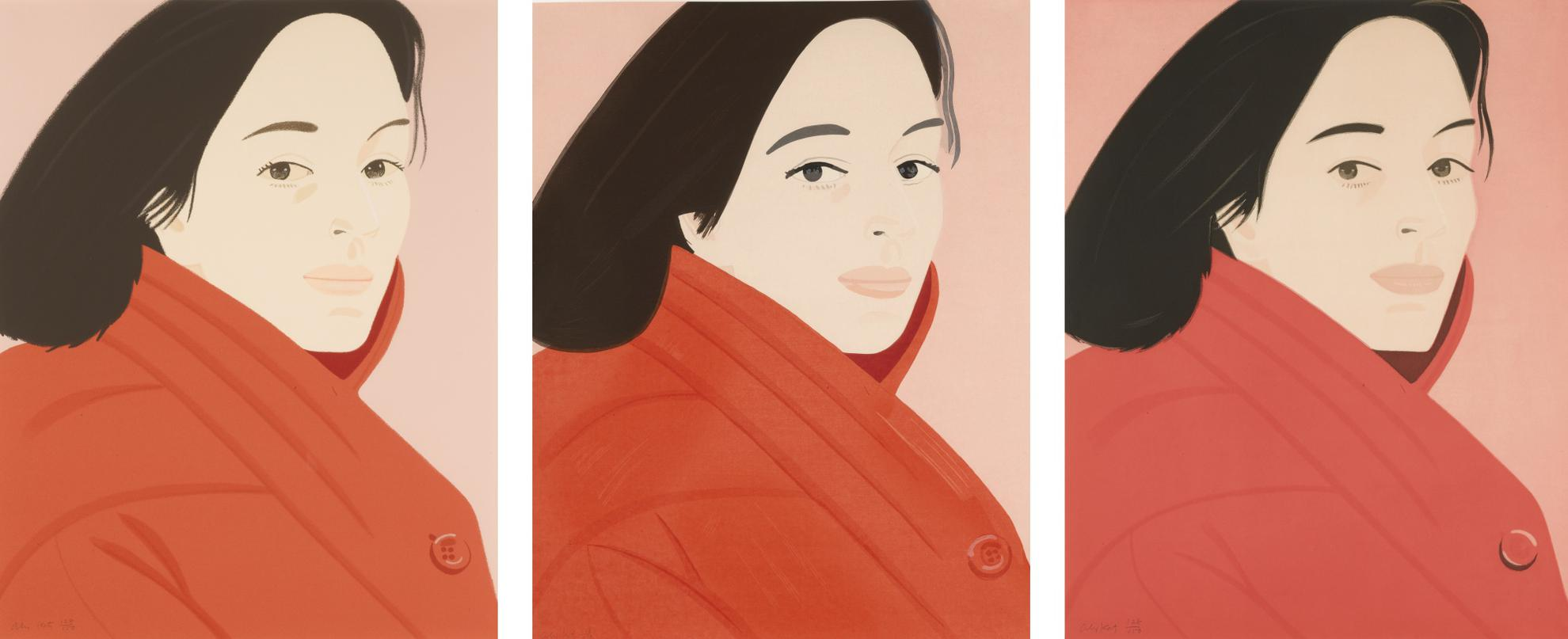 Alex Katz-Brisk Day Series-1990