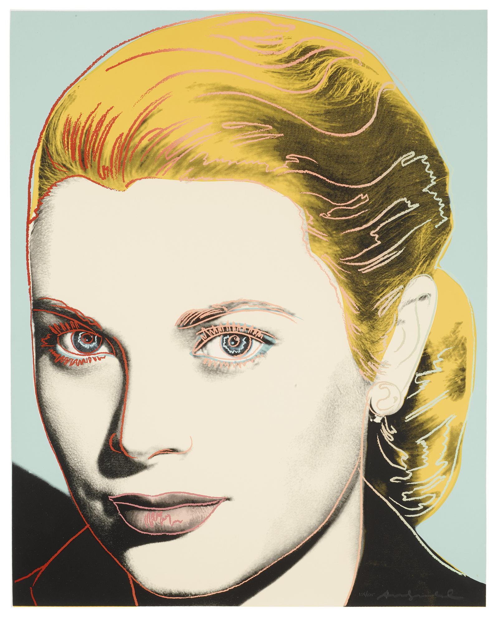 Andy Warhol-Grace Kelly (Feldman & Schellmann II.305)-1984