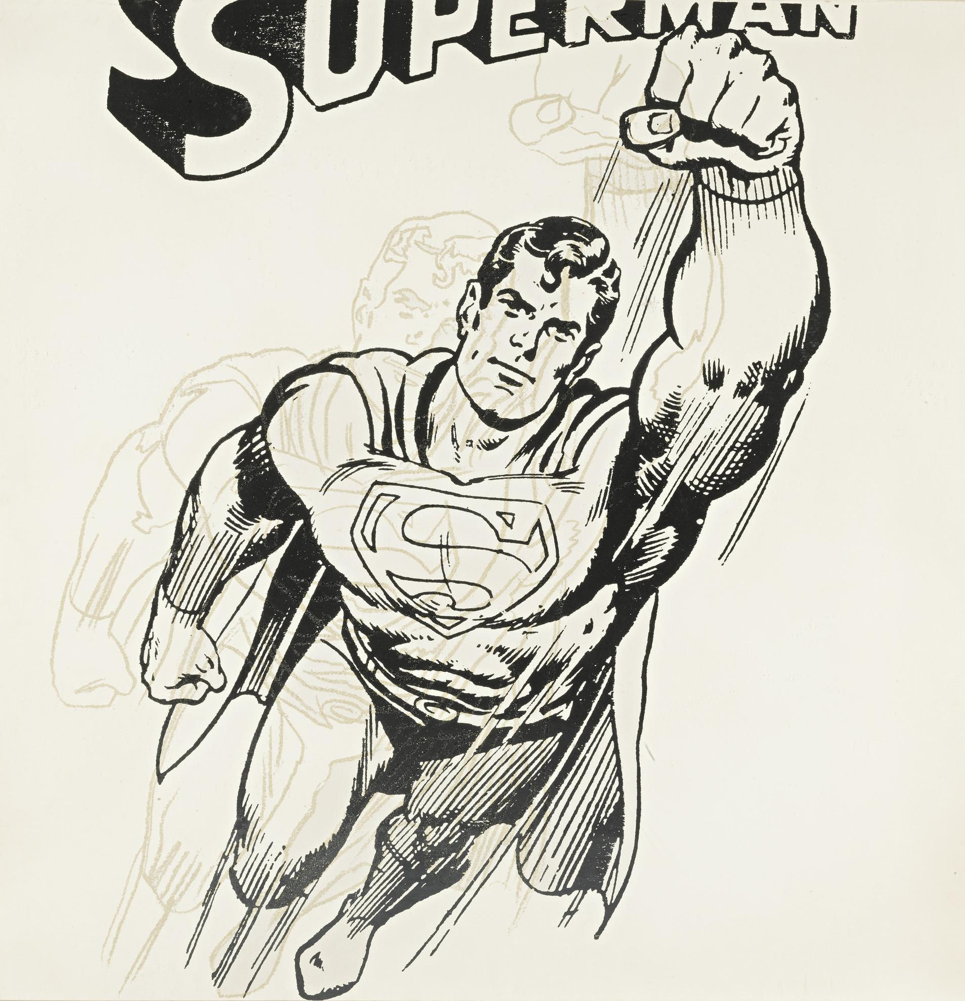 Andy Warhol-Superman (F. & S. IIb.260)-1981