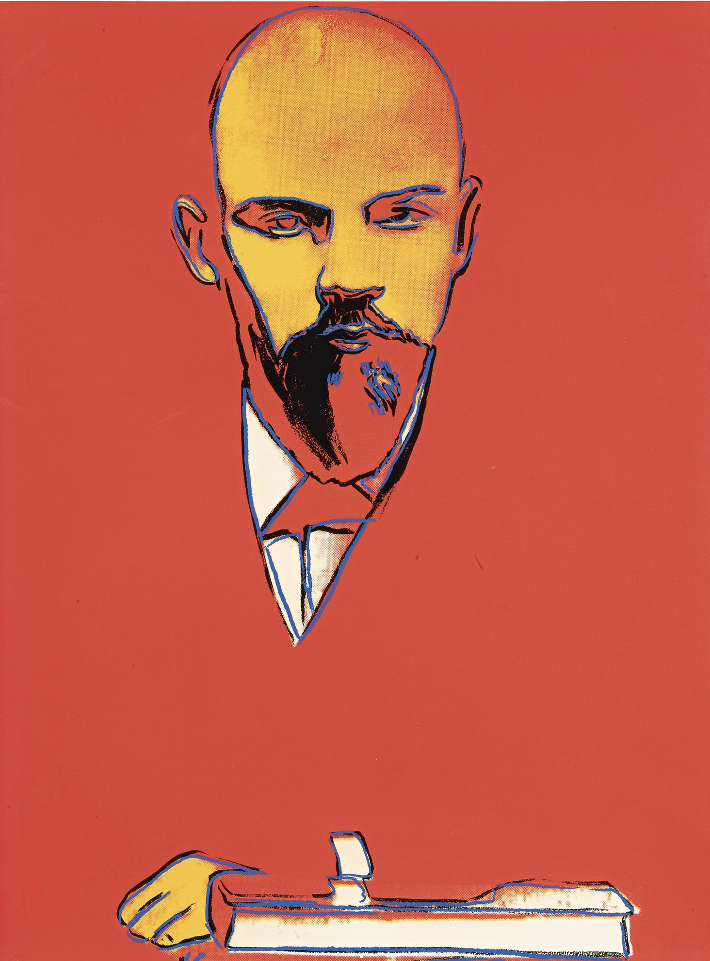 Andy Warhol-Red Lenin (F. & S. II.403)-1987
