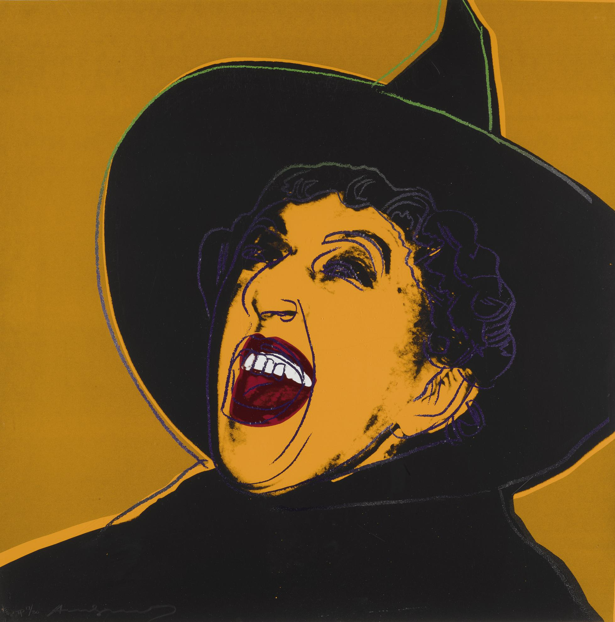 Andy Warhol-The Witch (F. & S. IIb.261)-1981
