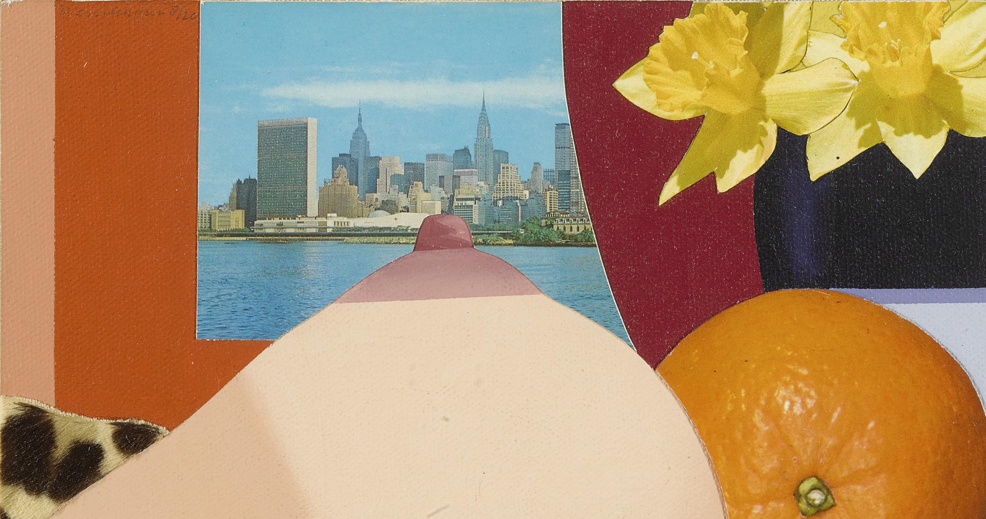 Tom Wesselmann-Bedroom Collage-1975