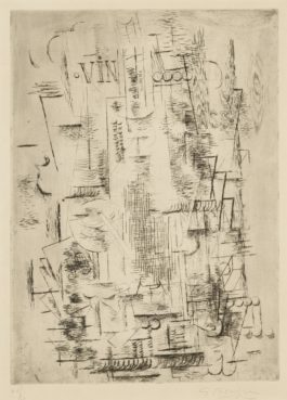 Georges Braque-Bass (Vallier 7)-1911