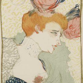 Henri de Toulouse-Lautrec-Mademoiselle Marcelle Lender, En Buste (Delteil 102; Adriani 115; Wittrock 99)-1895