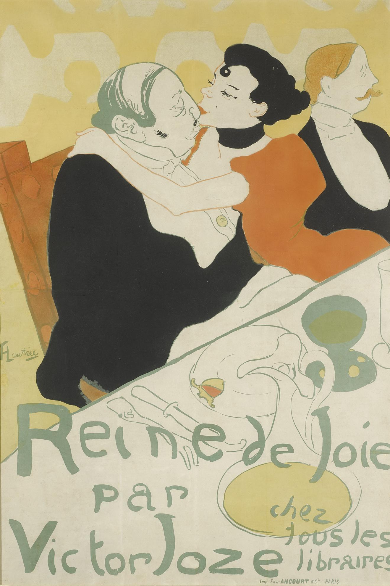 Henri de Toulouse-Lautrec-Reine De Joie (D. 342; Adr. 5; W. P3)-1892
