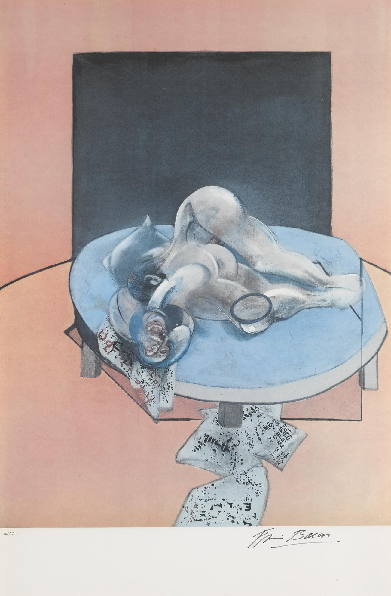 Francis Bacon-Studies Of The Human Body (Sabatier 34)-1980