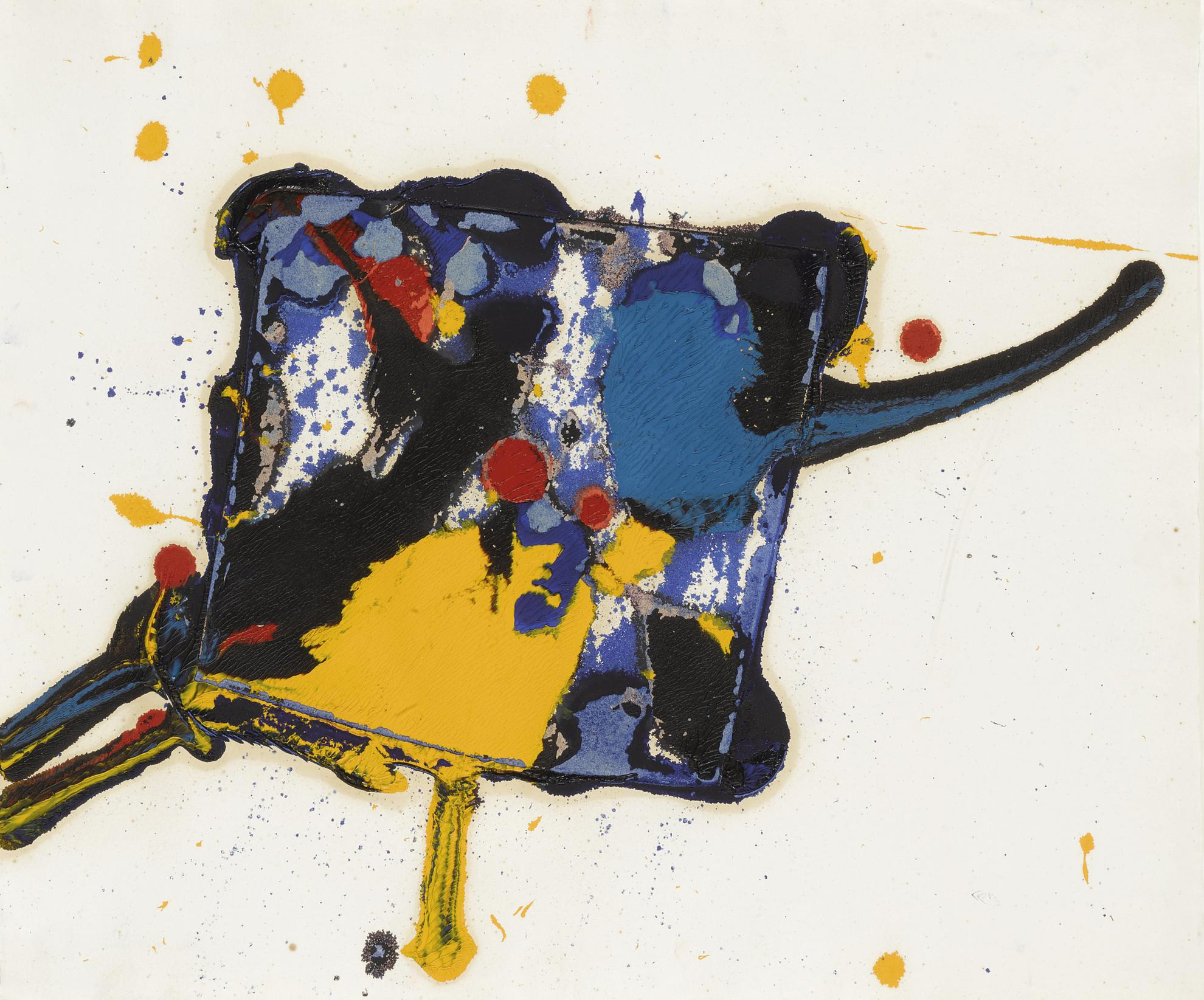 Sam Francis-Untitled (Sfm 77-003)-1977